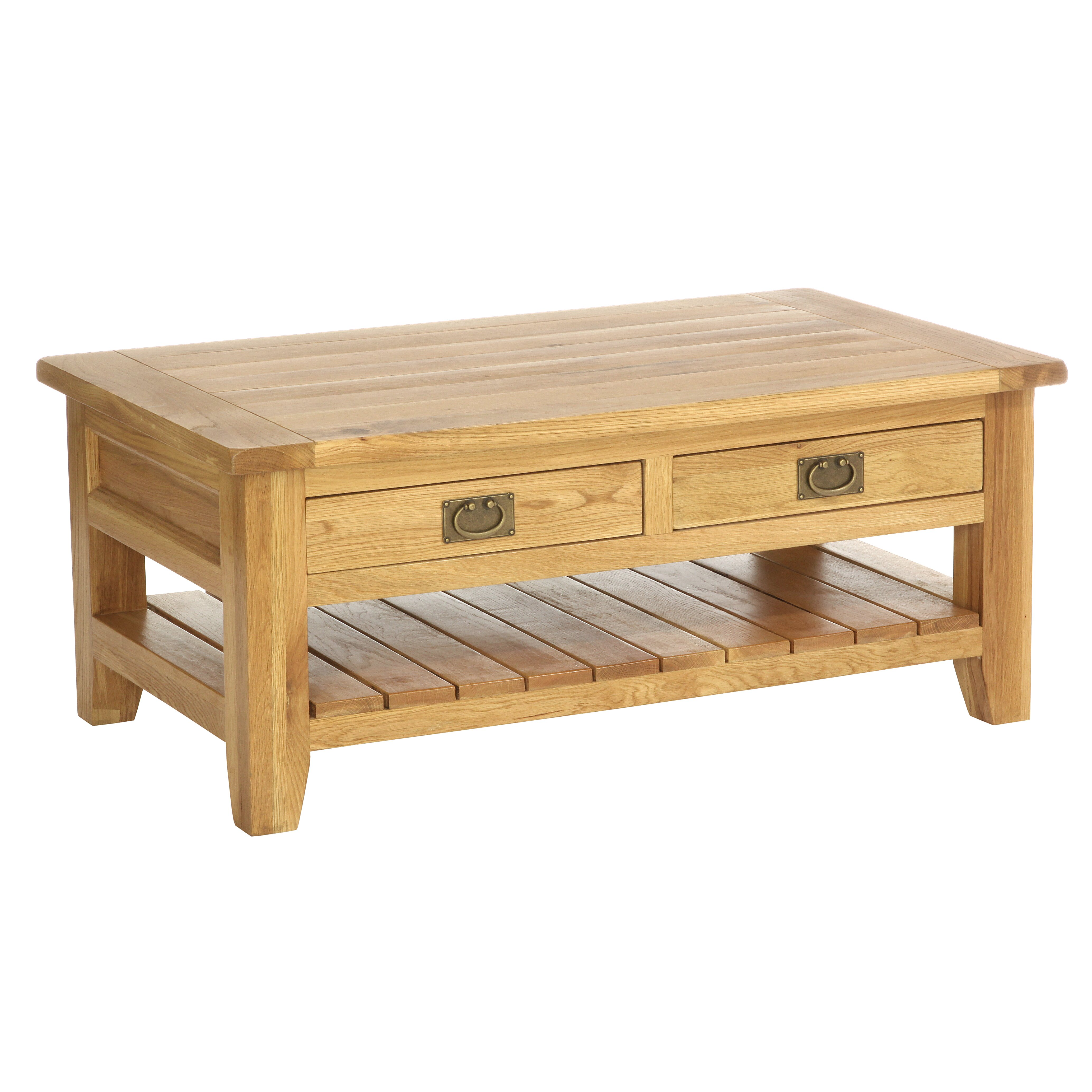 Besp oak vancouver coffee table wayfair for Coffee tables vancouver