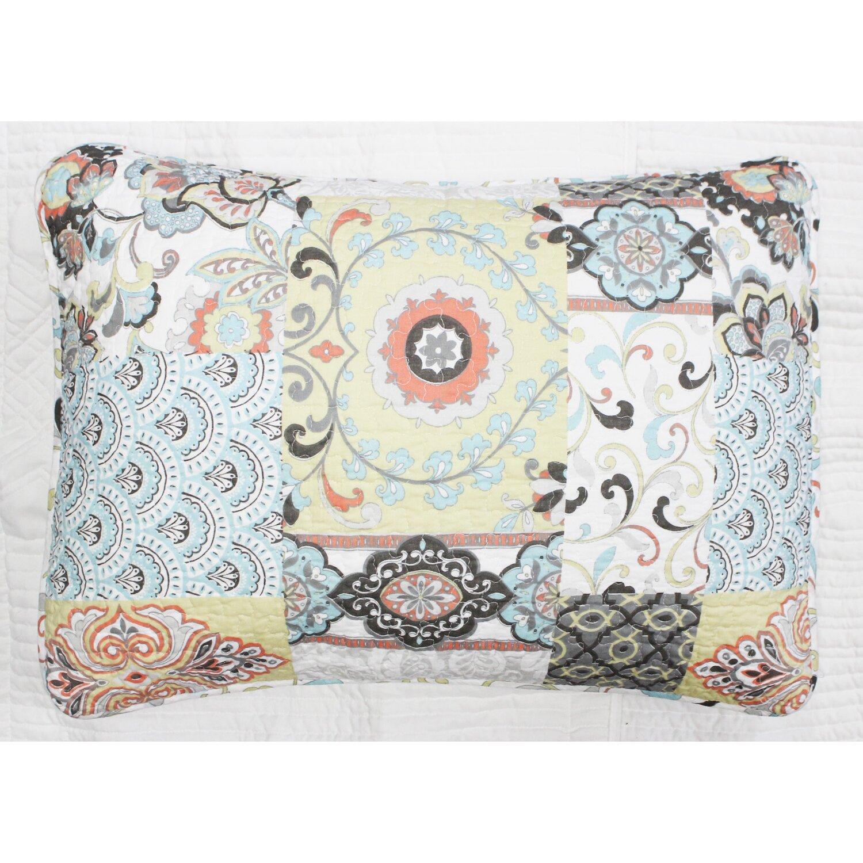 Cozy Line Home Fashion Moorea 3 Piece Quilt Set & Reviews ...