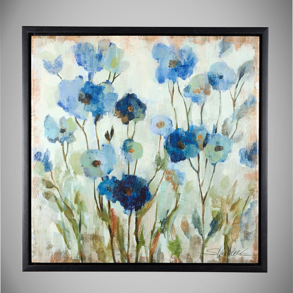 Wexfordhome Abstracted Floral By Vincent Van Gogh Framed
