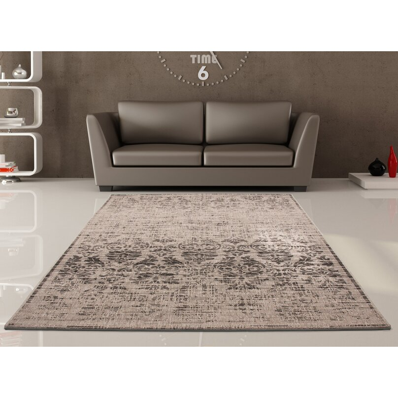 Lalee Sweden Lund Grey and Brown Area Rug & Reviews