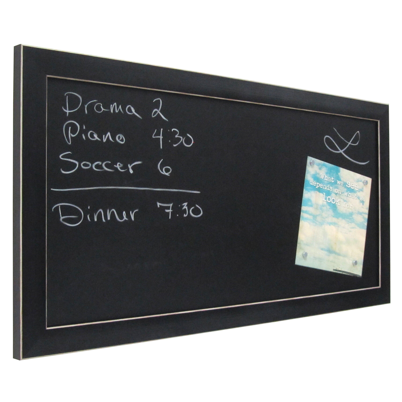 Uniek Wyeth Framed Magnetic Chalkboard Amp Reviews Wayfair