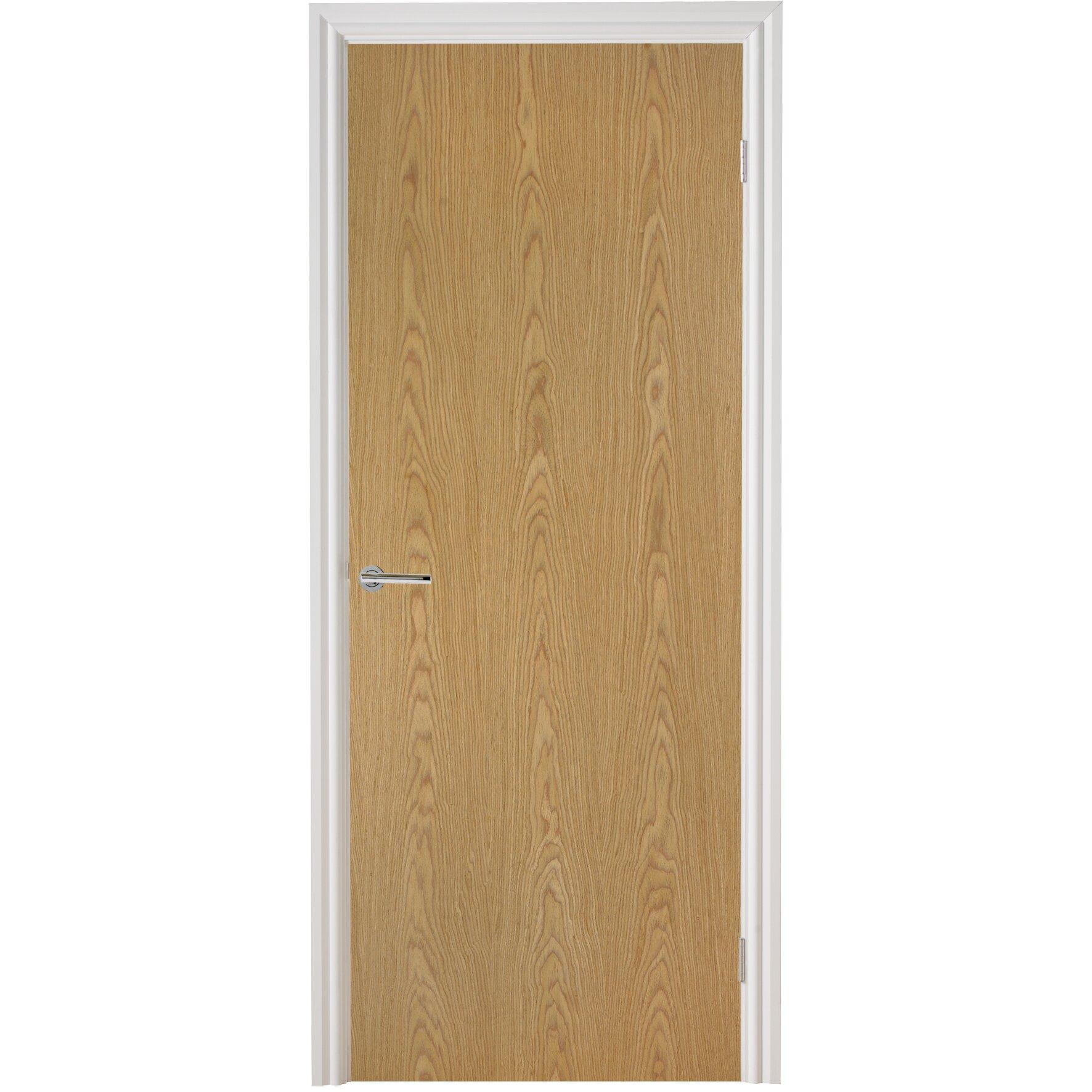 premdor wood veneer oak fire internal door reviews. Black Bedroom Furniture Sets. Home Design Ideas