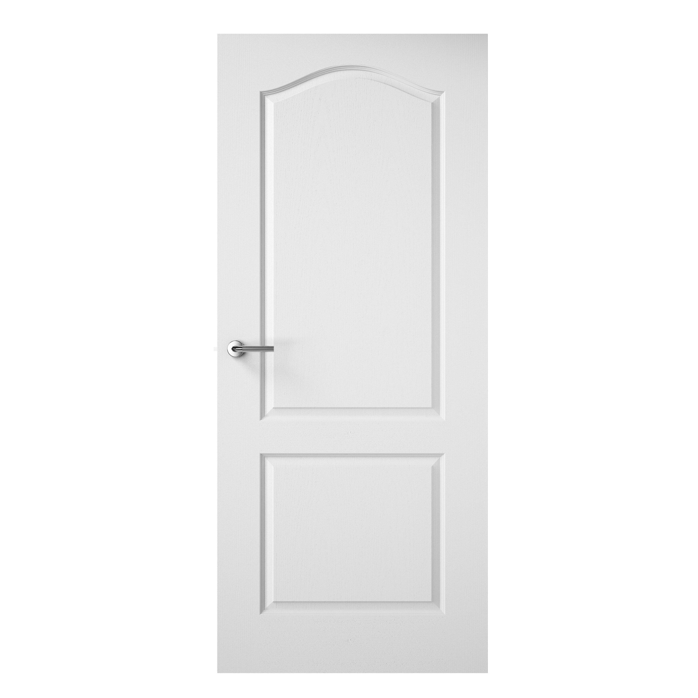 premdor wood 2 panel white textured internal door. Black Bedroom Furniture Sets. Home Design Ideas