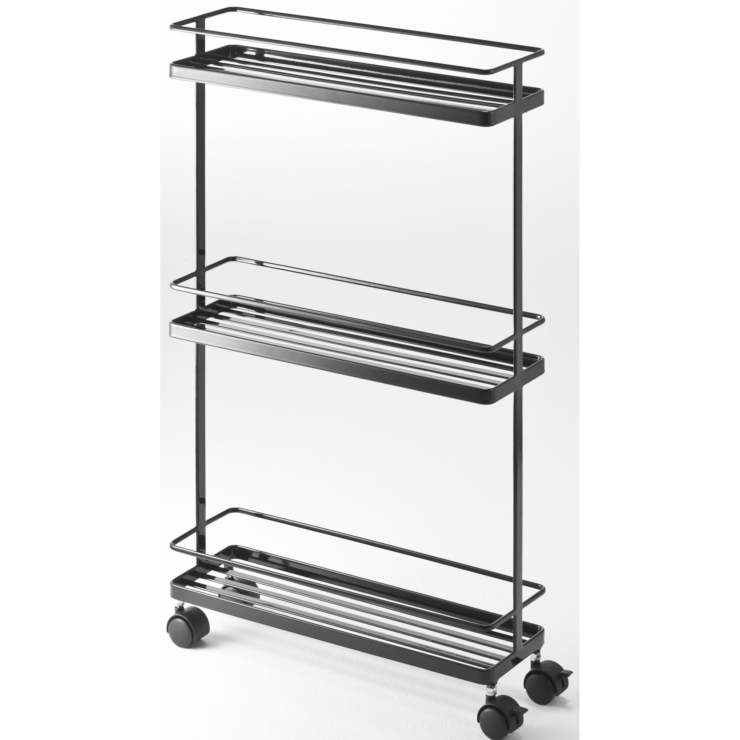 Yamazaki USA Tower Rolling Kitchen Storage Cart & Reviews