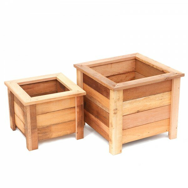 Susquehanna garden concepts square planter box reviews for Wayfair garden box
