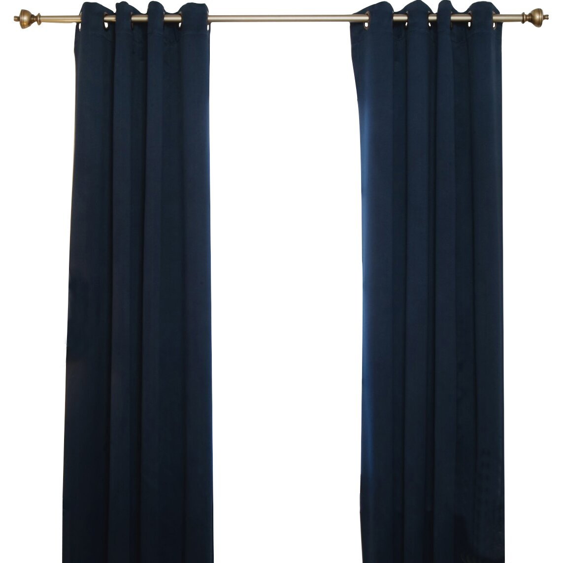 Blackout Curtain Grommet Top Blackout Thermal Curtain