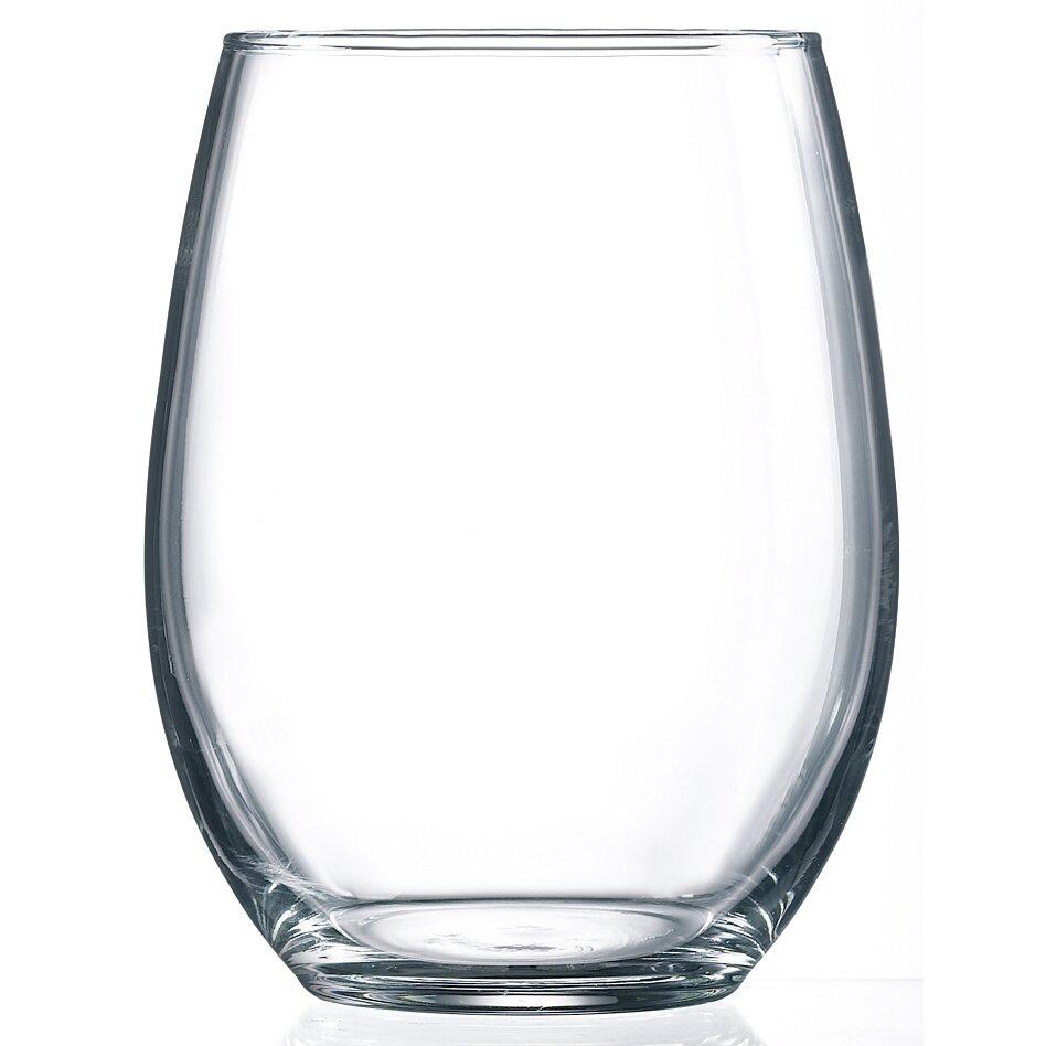luminarc cachet 21 oz stemless wine glass reviews wayfair. Black Bedroom Furniture Sets. Home Design Ideas