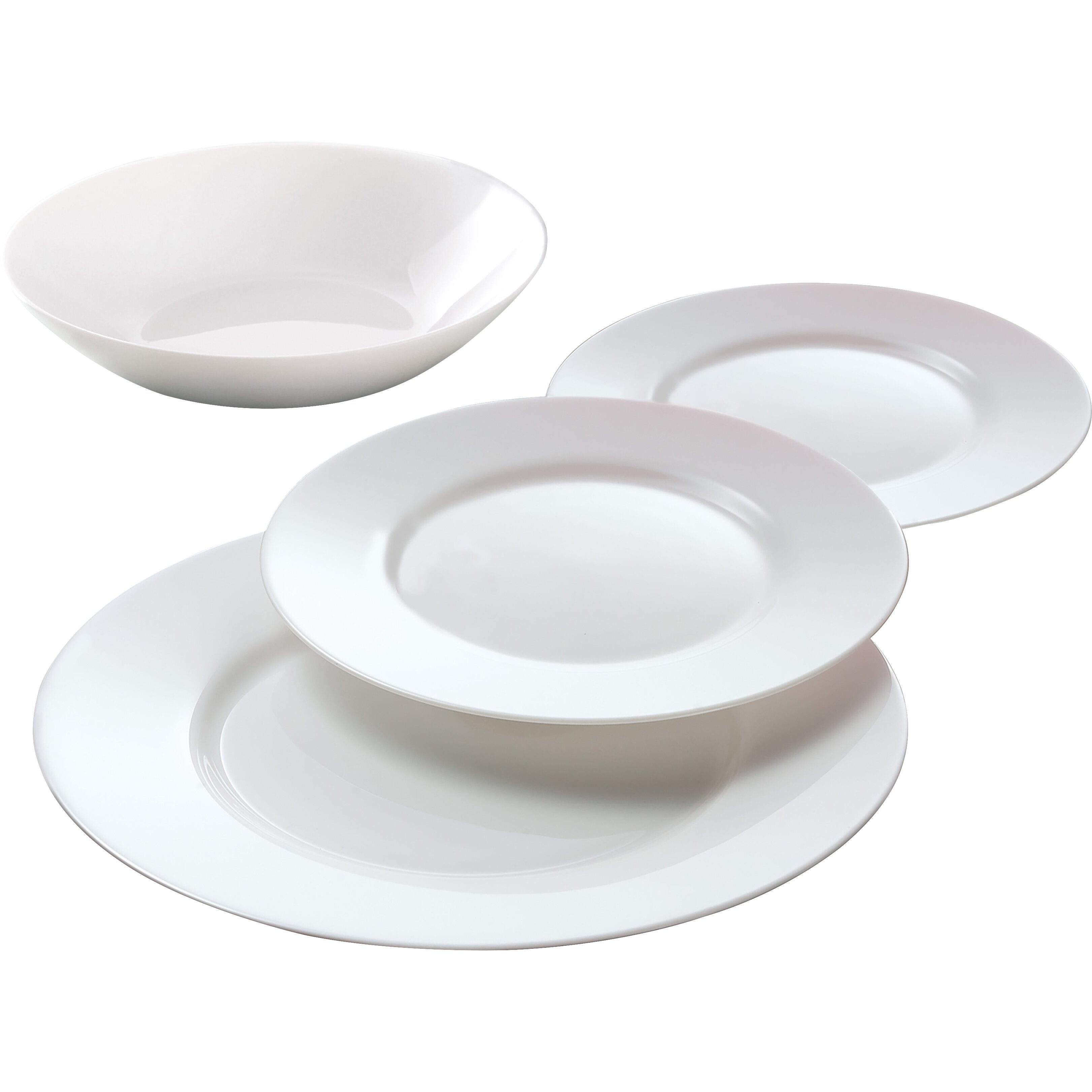 Luminarc Everyday 12 Piece Dinnerware Set Amp Reviews