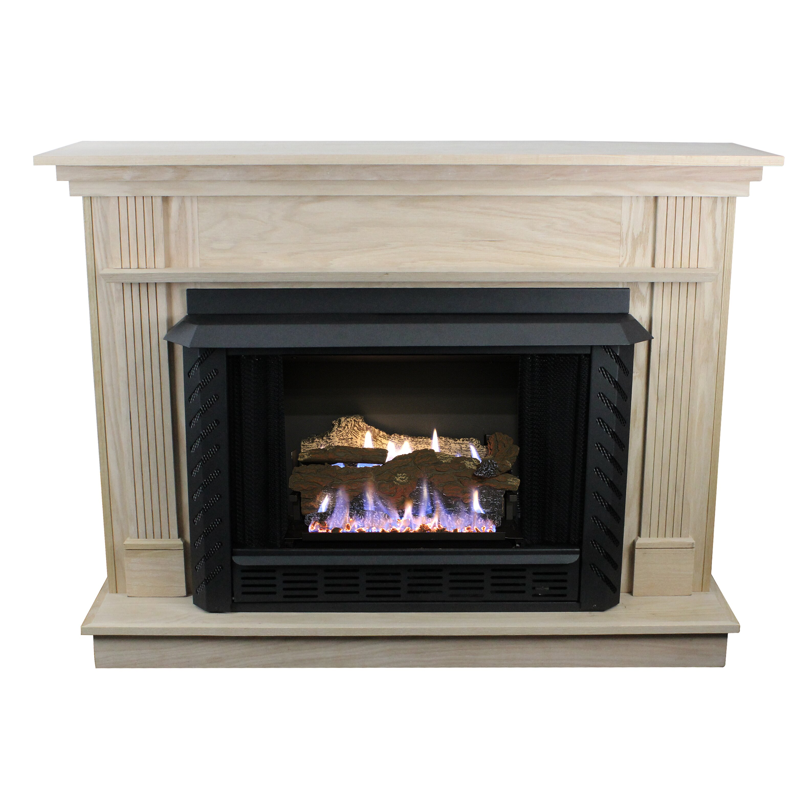 Ashley hearth vent free gas fireplace wayfair for Natural home heating