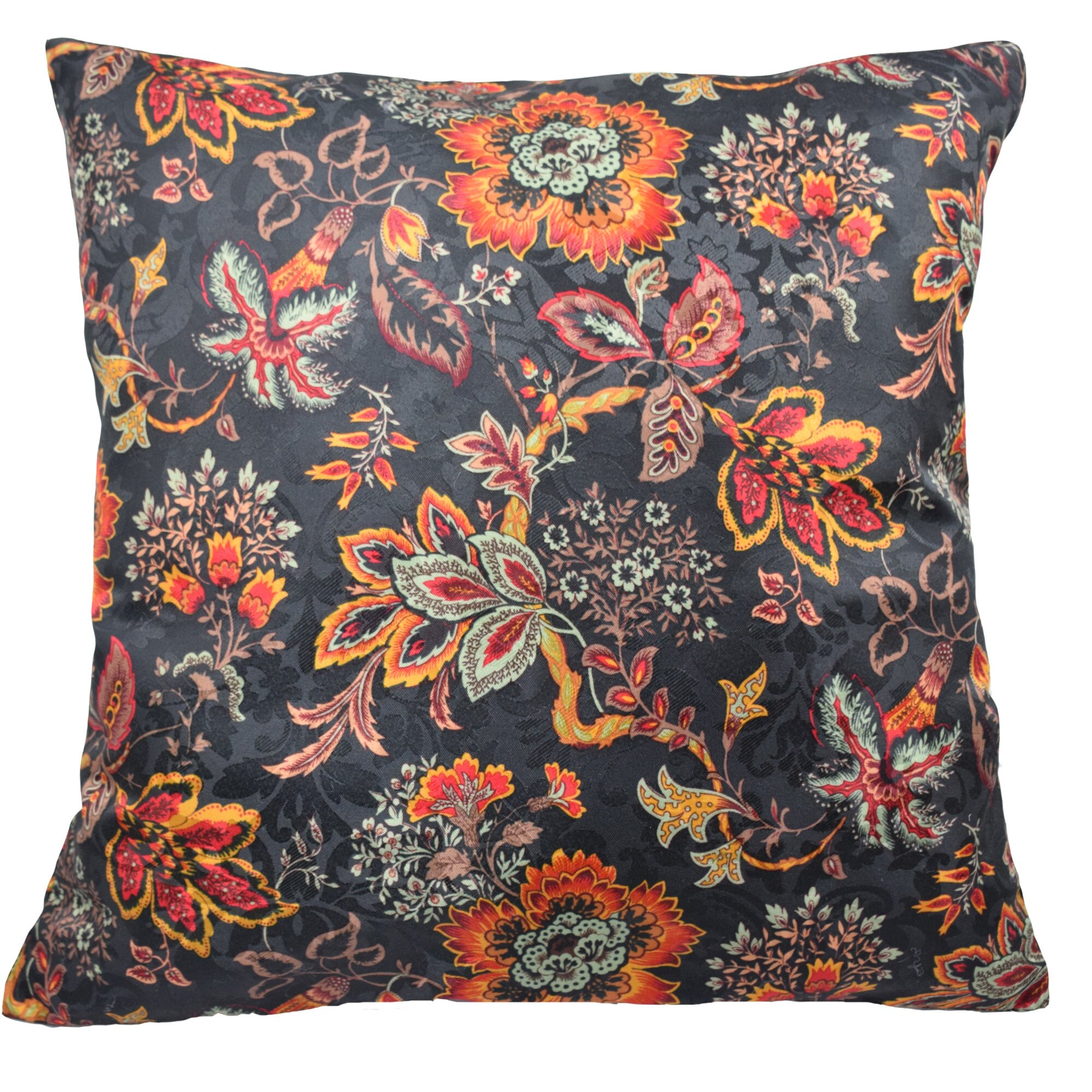 Traditions by Waverly Navarra Floral Decorative Throw Pillow & Reviews Wayfair