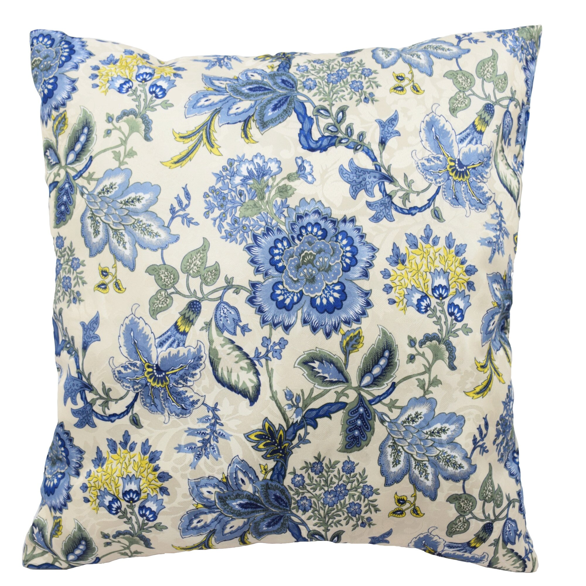 Traditions by waverly navarra floral decorative throw pillow reviews wayfair - Decorative throw pillows ...