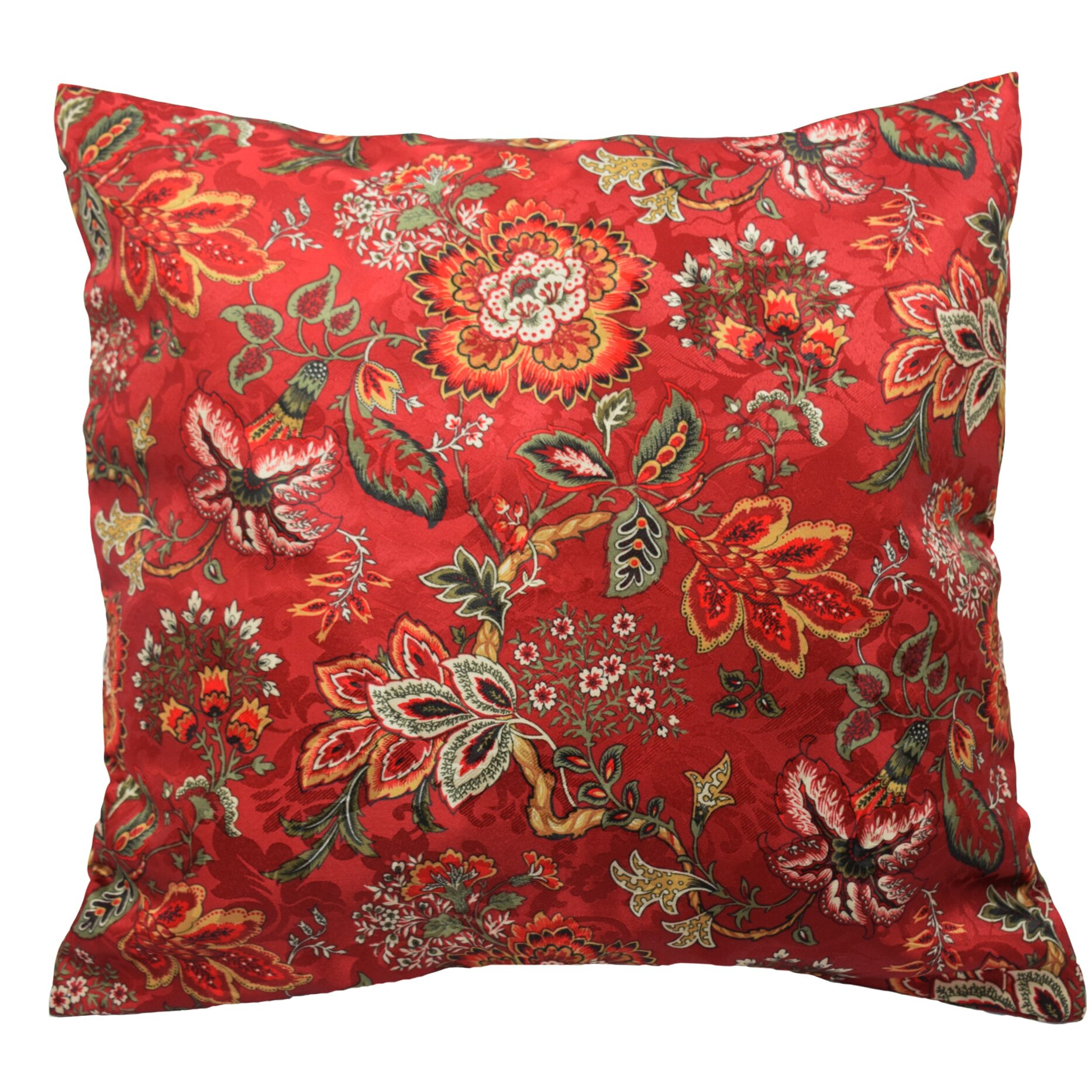Traditions by waverly navarra floral decorative throw for Decor pillows