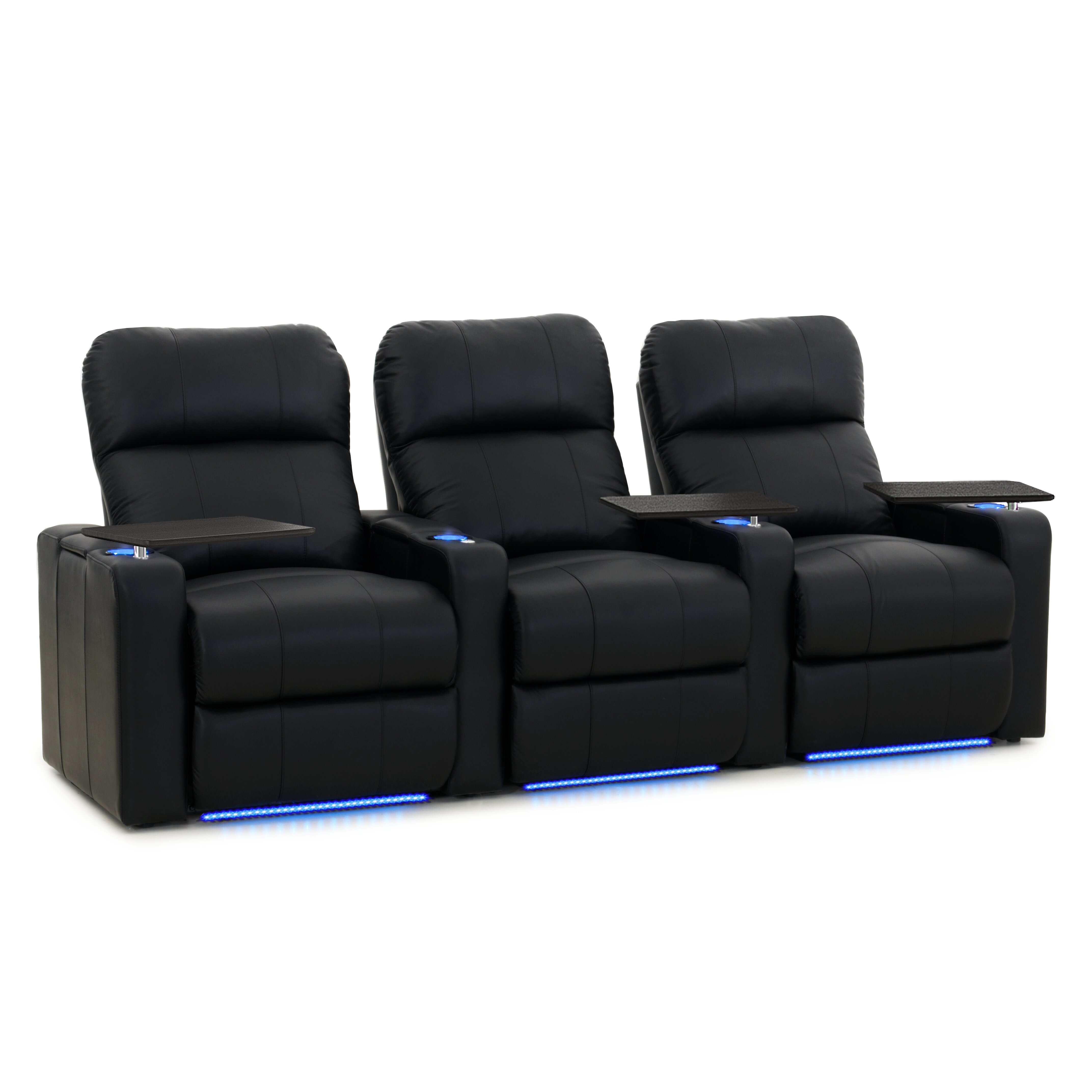 Mattress Toppers Twin Xl OctaneSeating Turbo XL700 Home Theater Recliner (Row of 3 ...