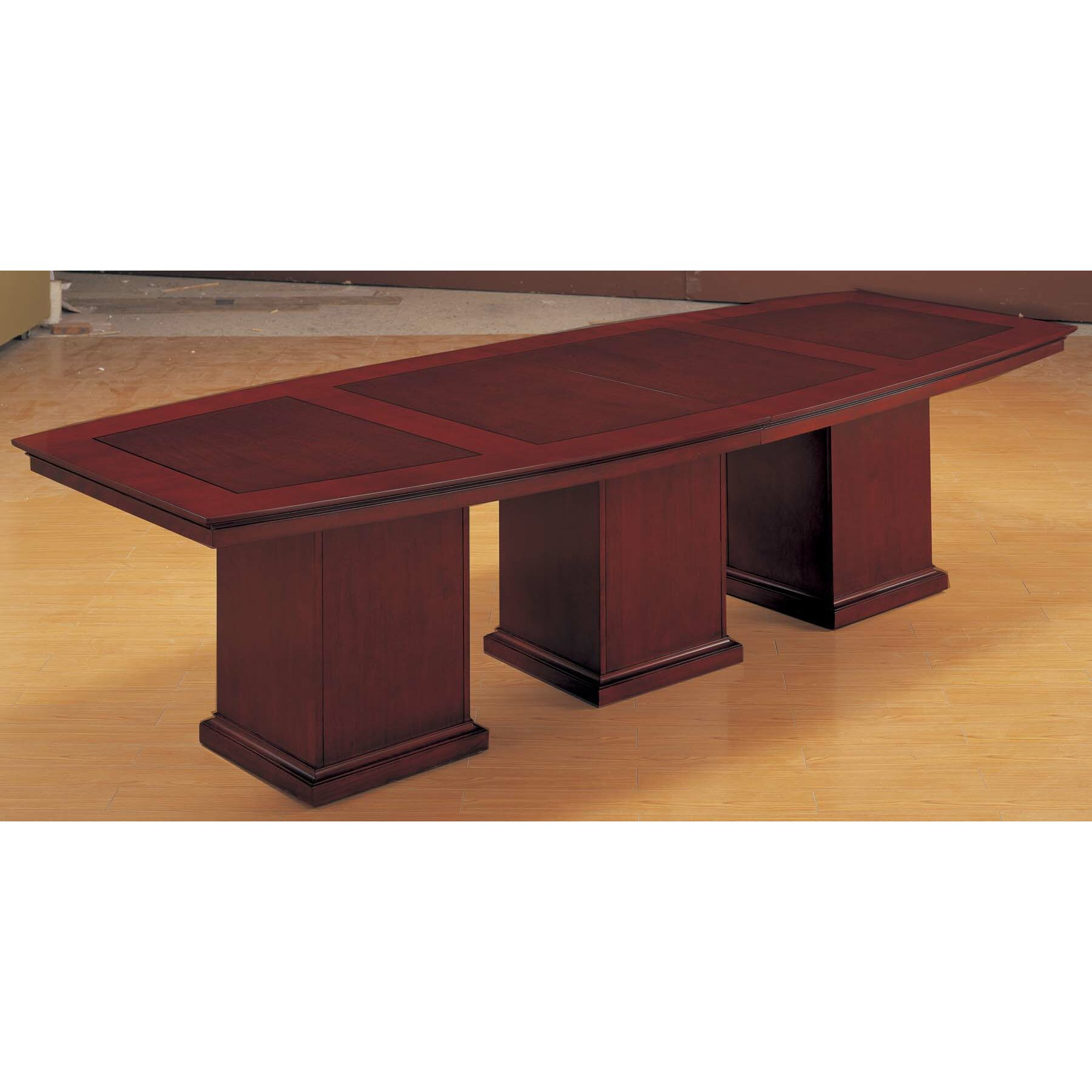 Flexsteel contract del mar 12 39 boat shaped conference for 12 conference table