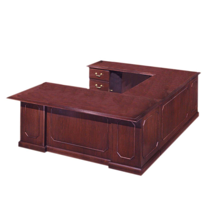 Flexsteel Contract Governor 39 S Executive Desk With Left Return Wayfair