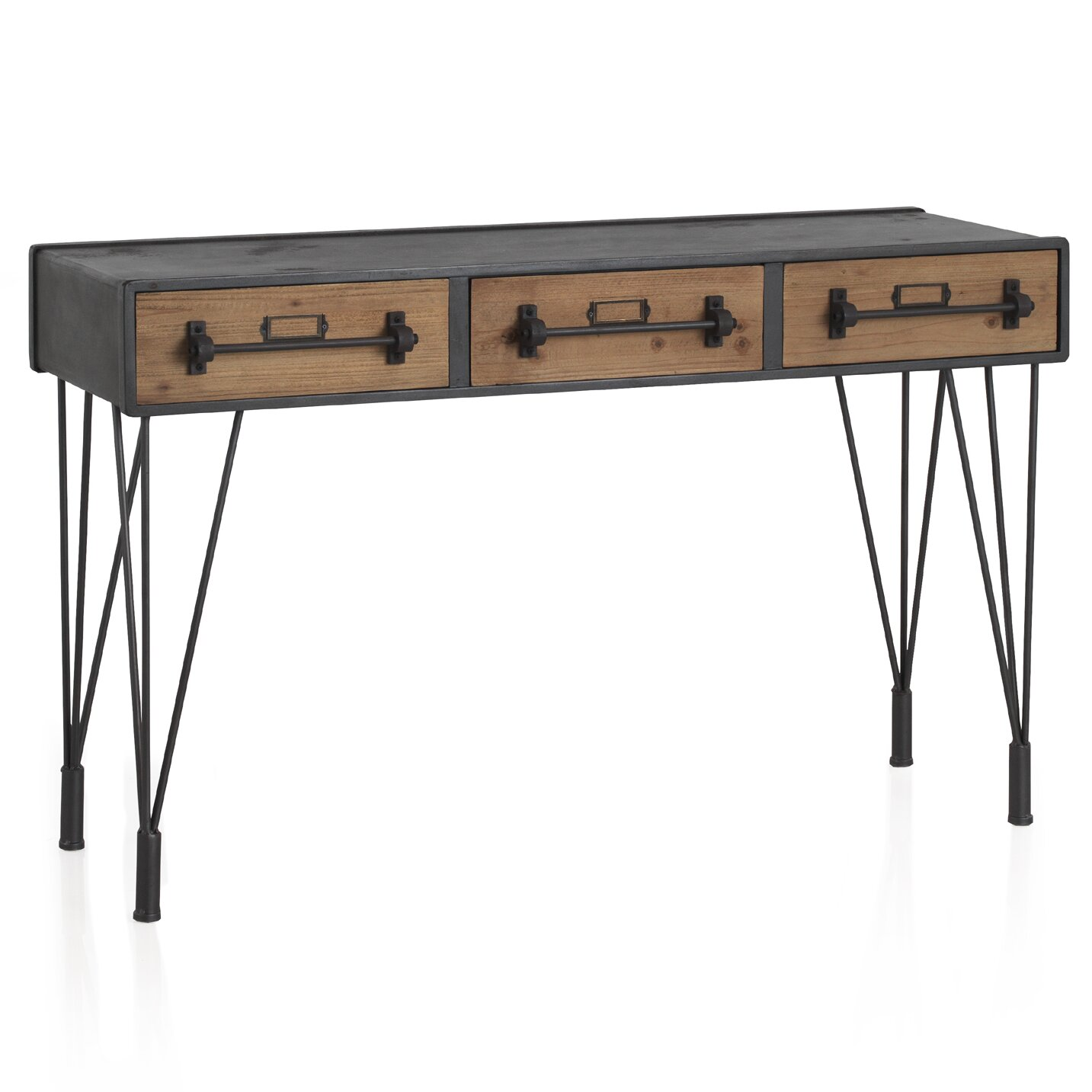 geese retro console table reviews wayfair uk. Black Bedroom Furniture Sets. Home Design Ideas