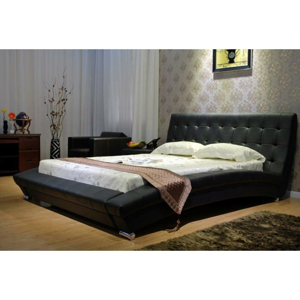 Greatime Upholstered Platform Bed Reviews