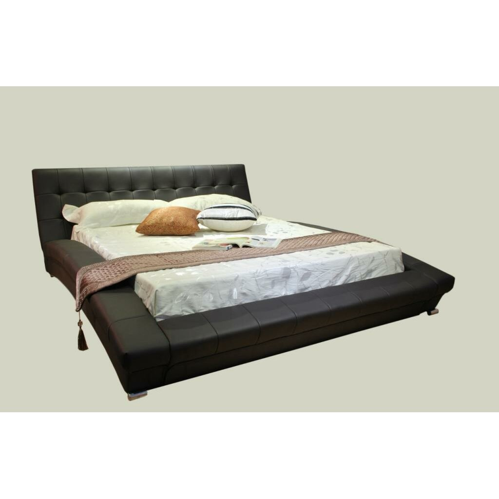 Greatime Upholstered Platform Bed Reviews Wayfair