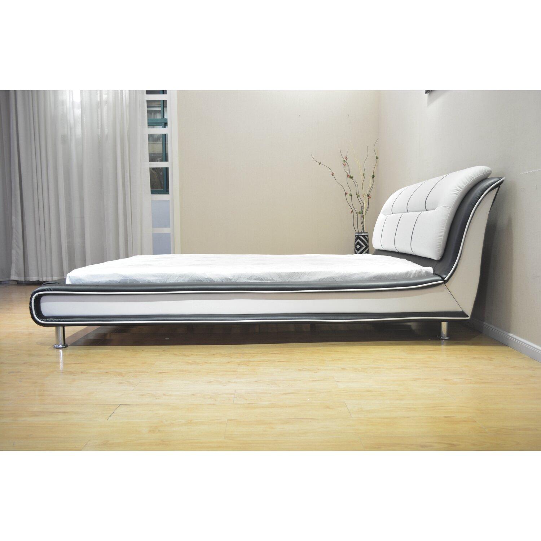 Greatime Upholstered Platform Bed Wayfair