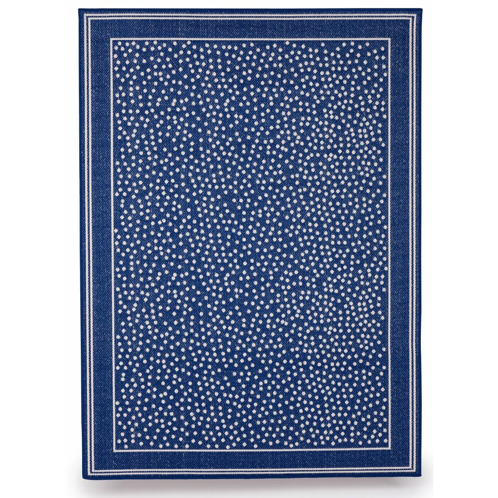 Royal blue outdoor rug budgeindustries twilight royal for Blue indoor outdoor rug