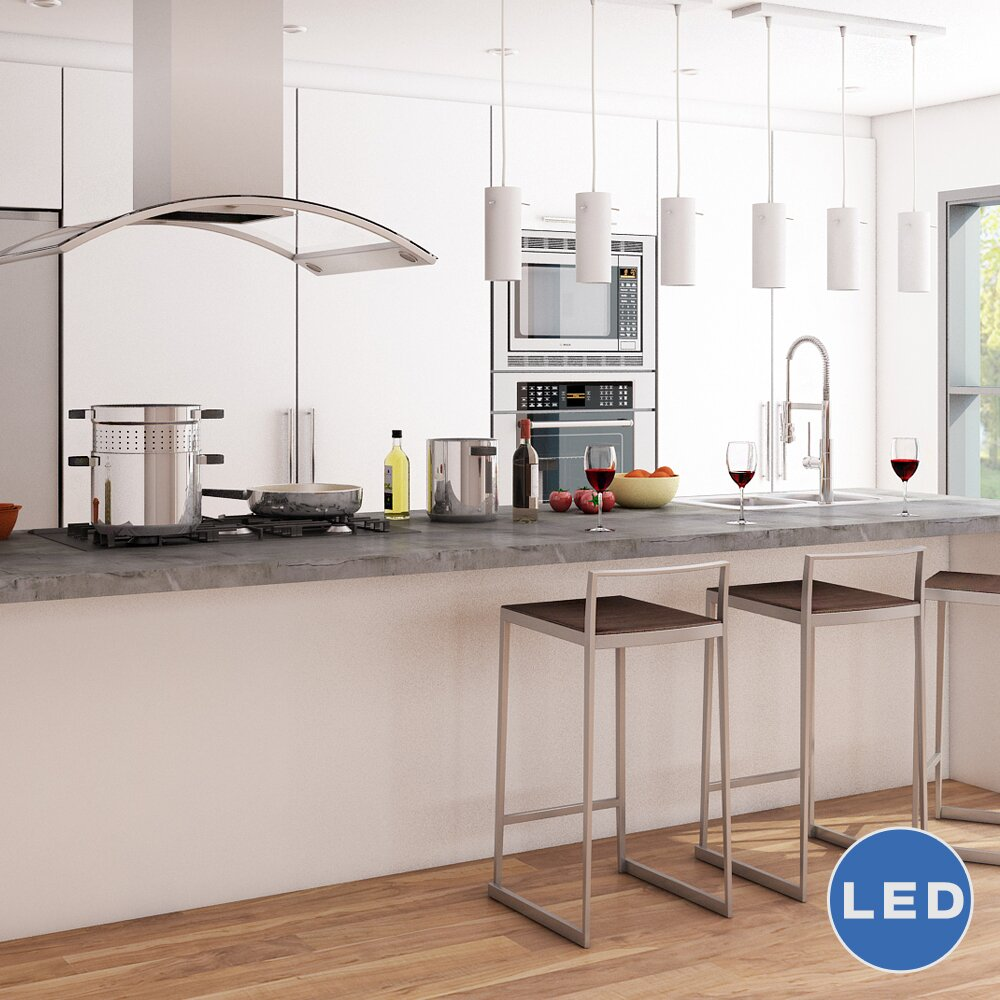 VONNLighting Perseus 3 Light Kitchen Island Pendant