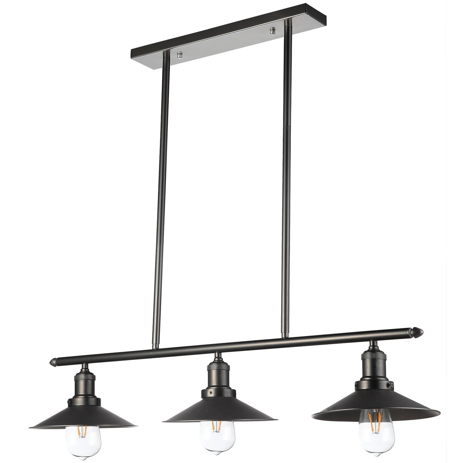 3 light pendant island kitchen lighting vonnlighting delphinus 3 light kitchen island pendant 26304