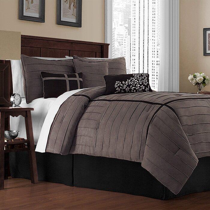 Vcny ellington 7 piece comforter set reviews for Ellington bedroom set