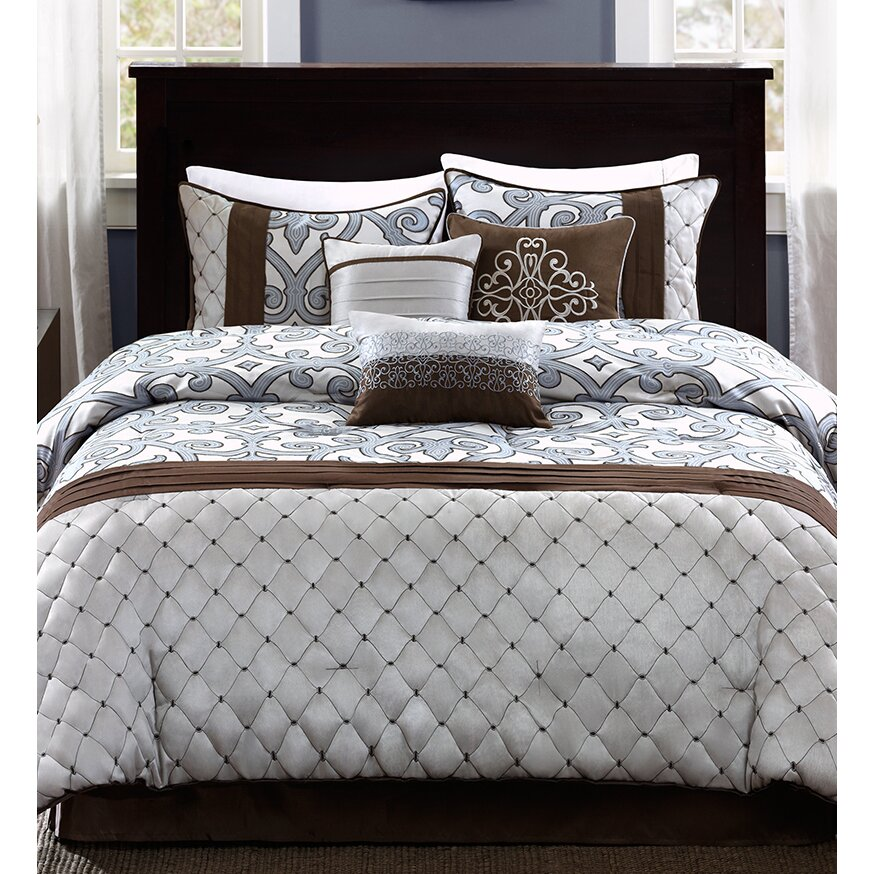 Warefair Com: Madison Park Crosby 7 Piece Comforter Set & Reviews