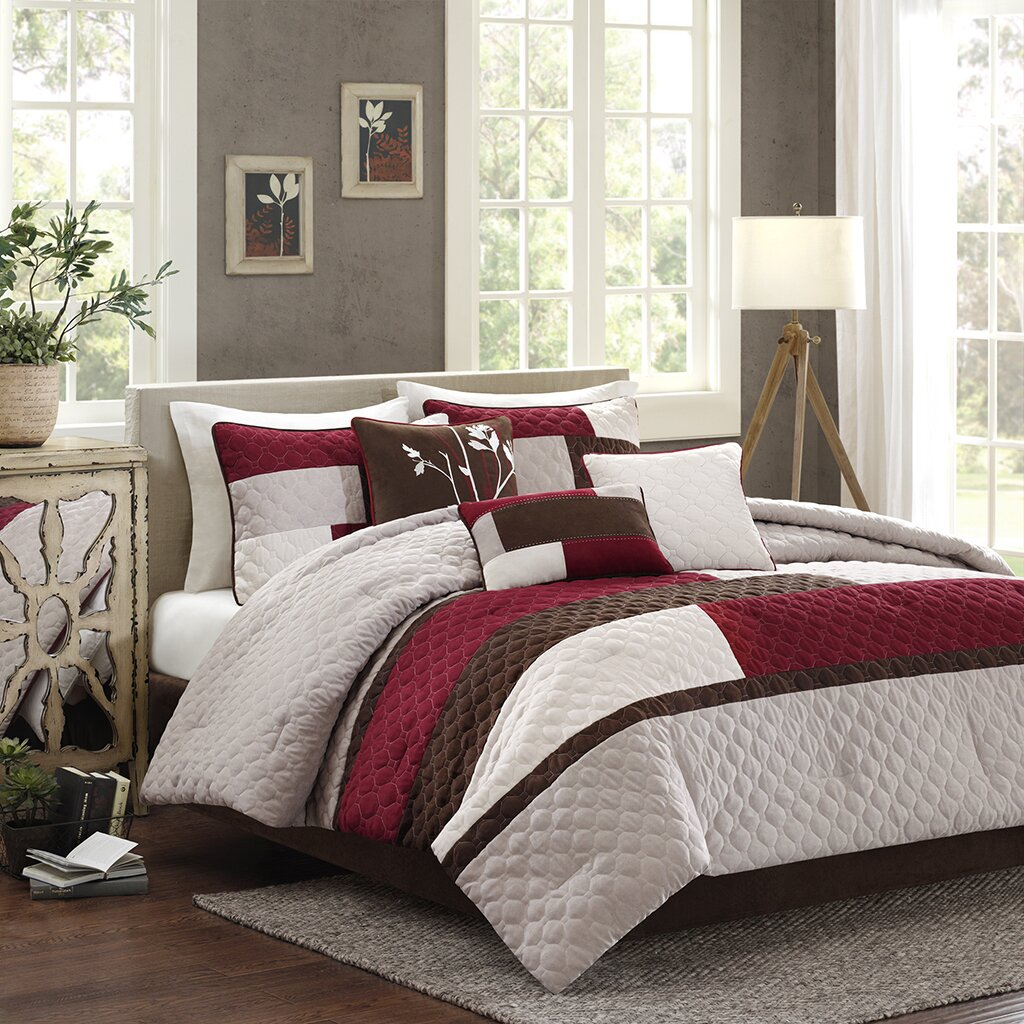 Madison Park Cooper 7 Piece Comforter Set Reviews Wayfair