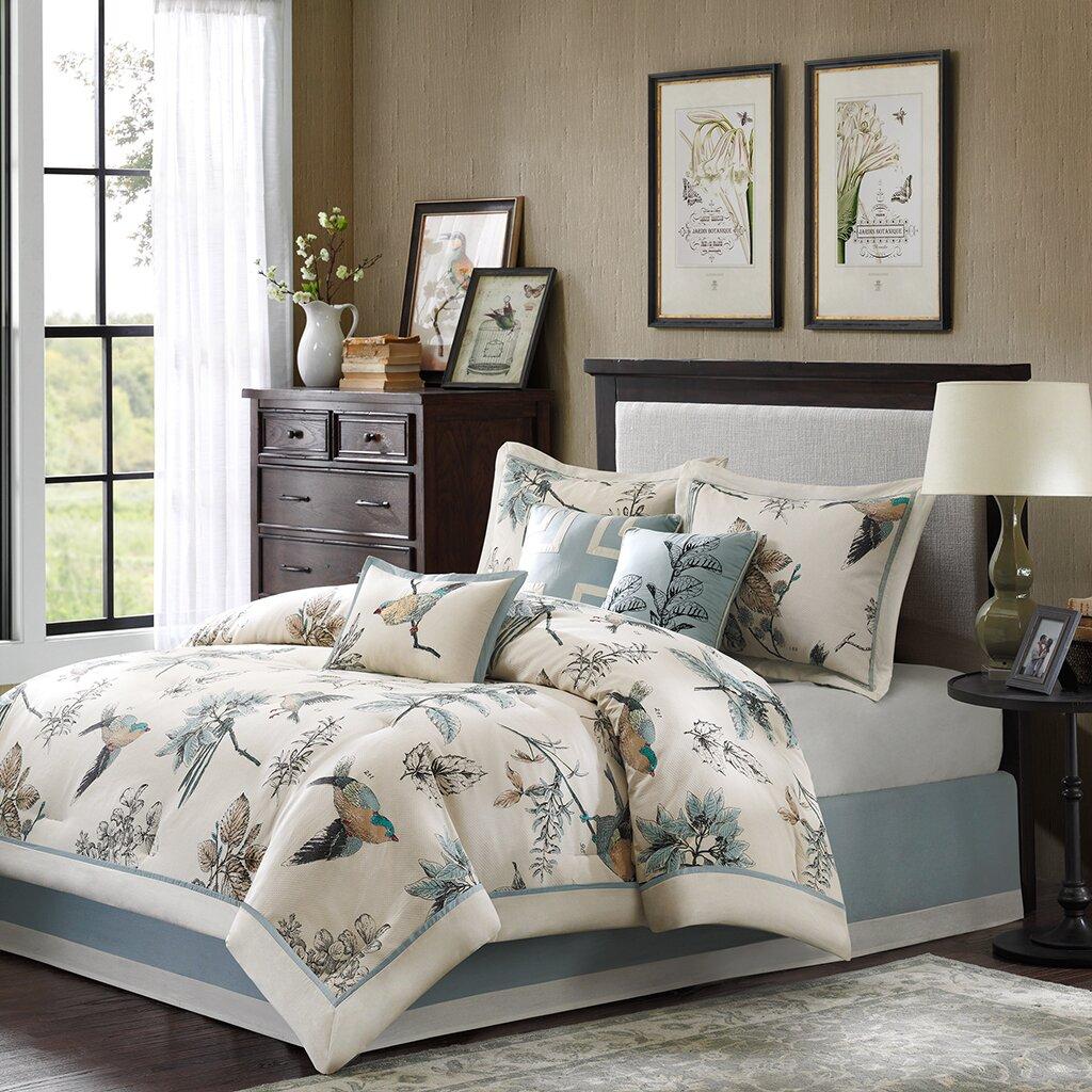 Madison Park Quincy 7 Piece Reversible Comforter Set