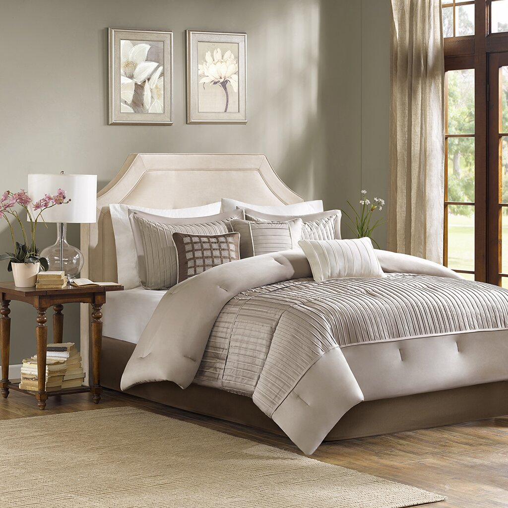 Madison Park Trinity 6 Piece Reversible Duvet Cover Set