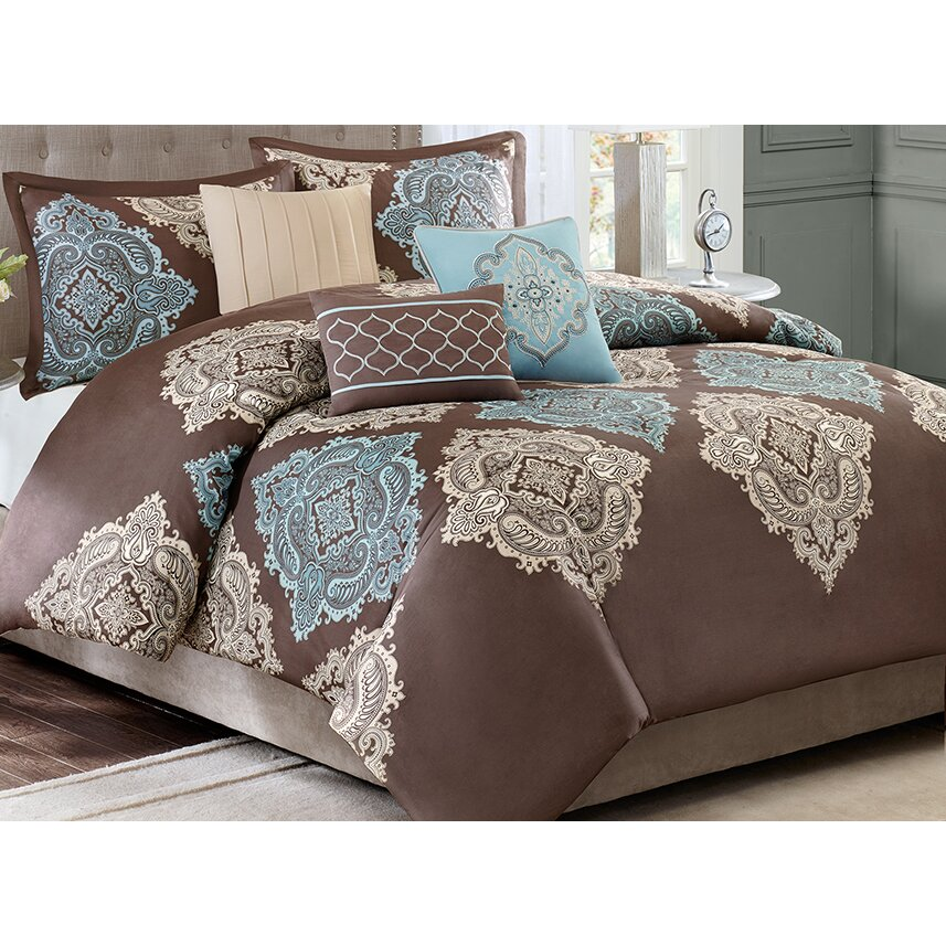 Madison Park Monroe 6 Piece Duvet Cover Set Amp Reviews