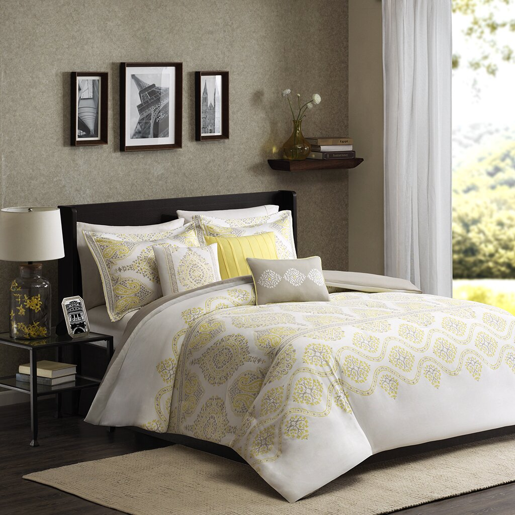 Madison Park Libreto 6 Piece Duvet Cover Set Amp Reviews