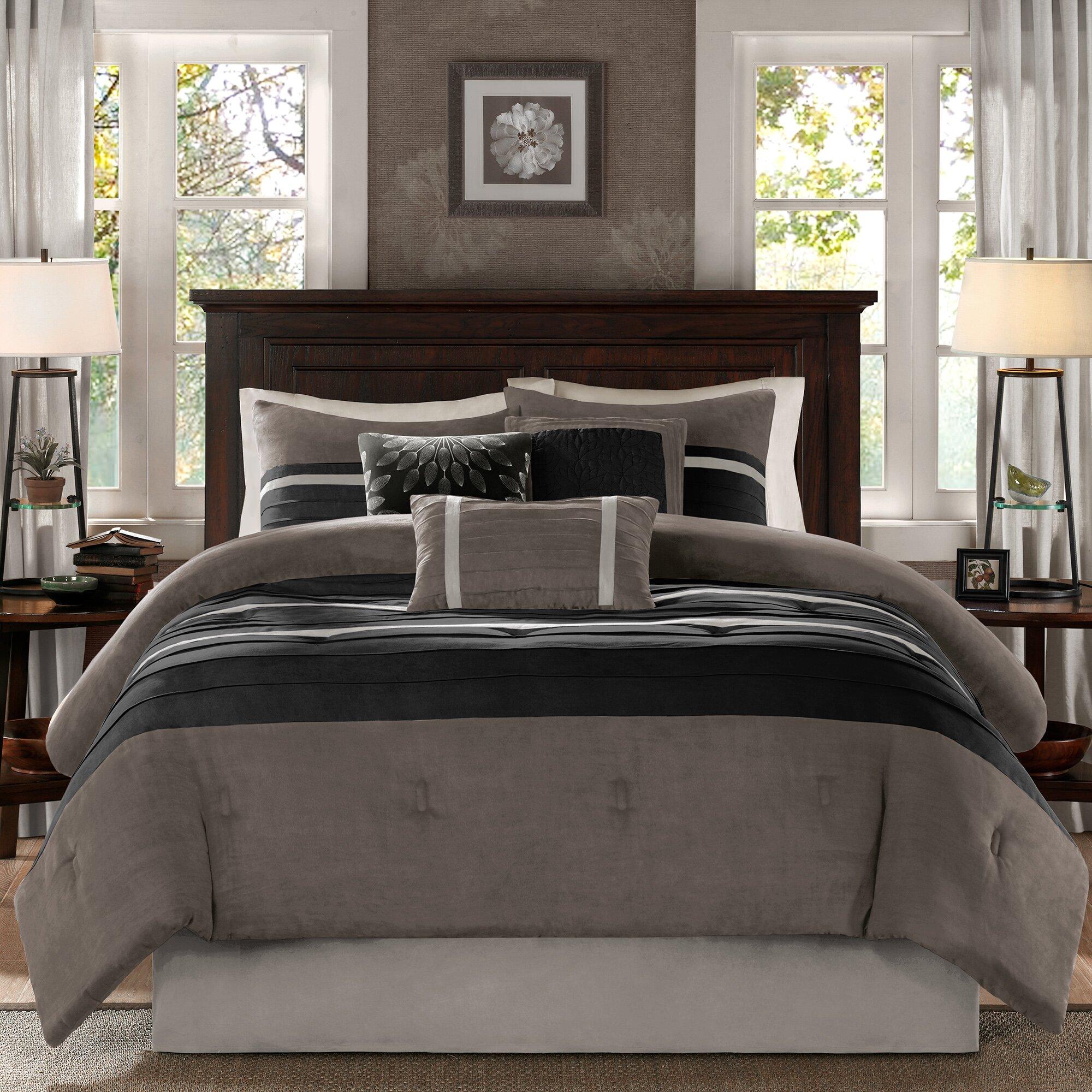madison park palmer 7 piece reversible comforter set