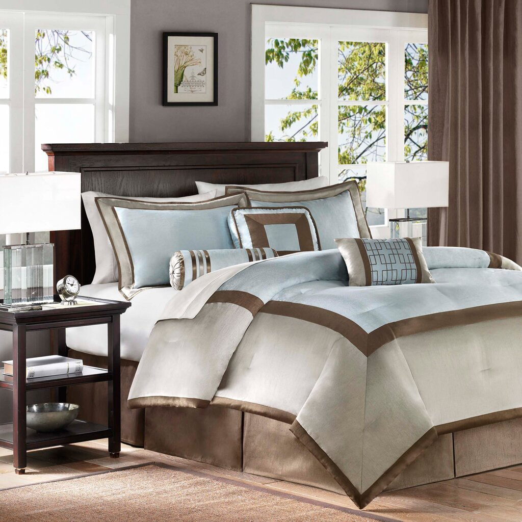 madison park genevieve 7 piece comforter set reviews