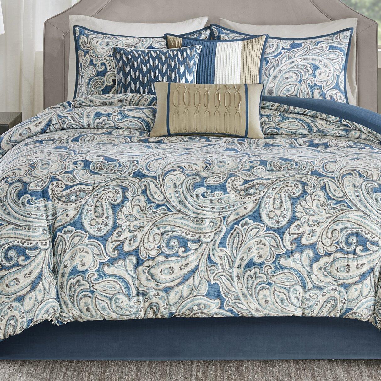 Madison Park Gabby 7 Piece Comforter Set Reviews Wayfair