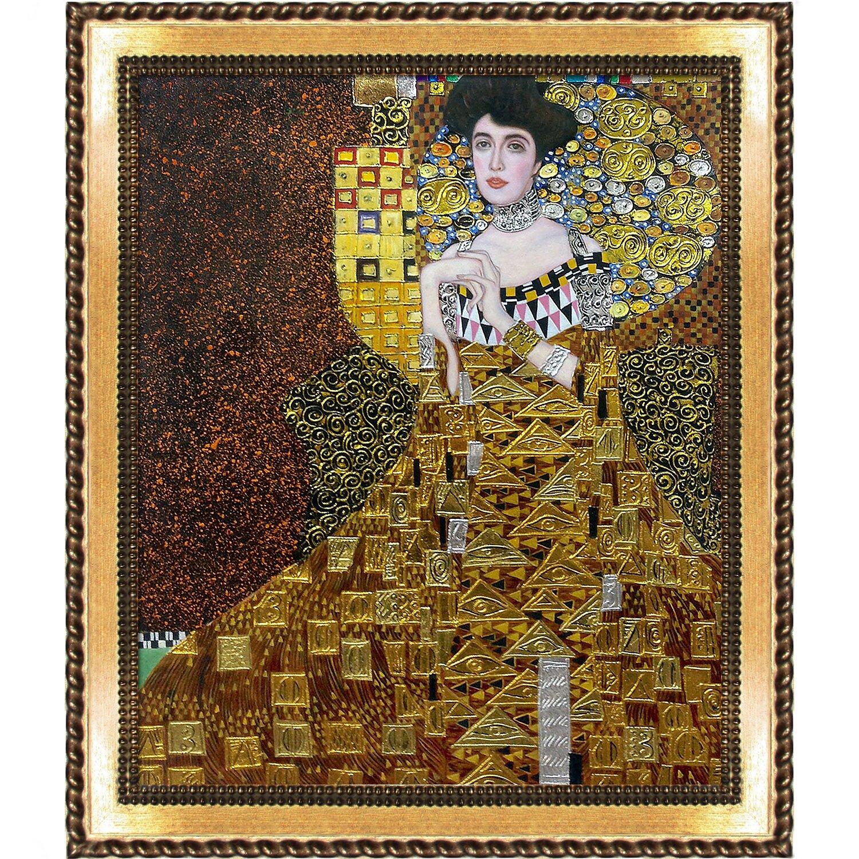 La pastiche 39 portrait of adele bloch bauer i metallic for Adele bloch bauer i