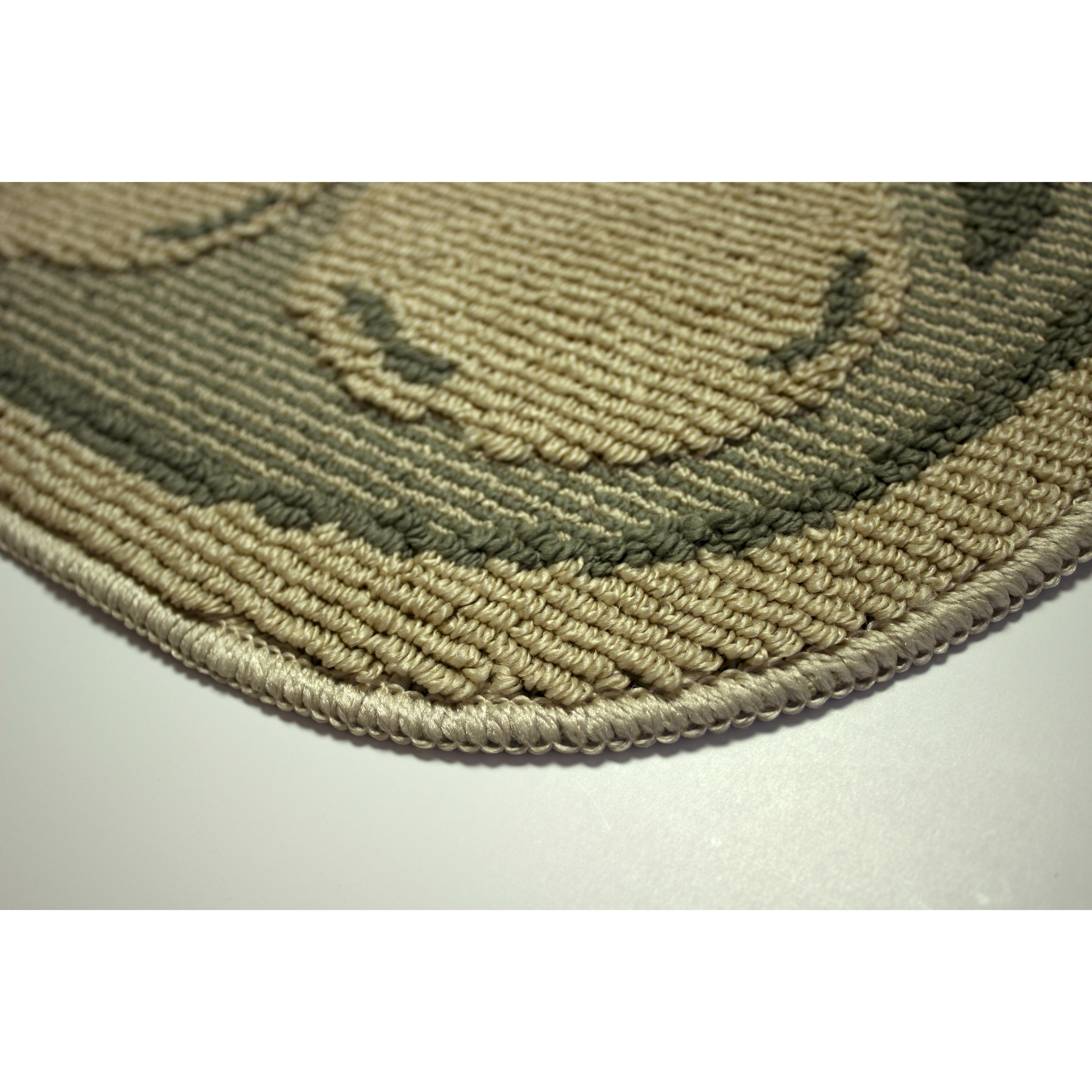 Structures Textured Loop Bartlett Pears Wedge Slice Kitchen Area Rug & Re