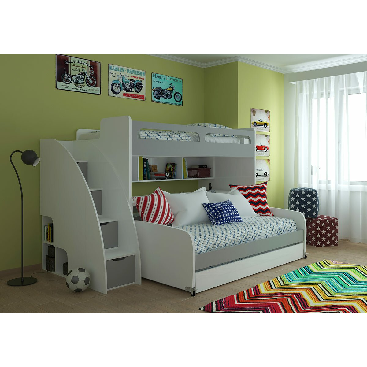 Multimo Bel Mondo Twin Bunk Bed With Trundle Amp Reviews