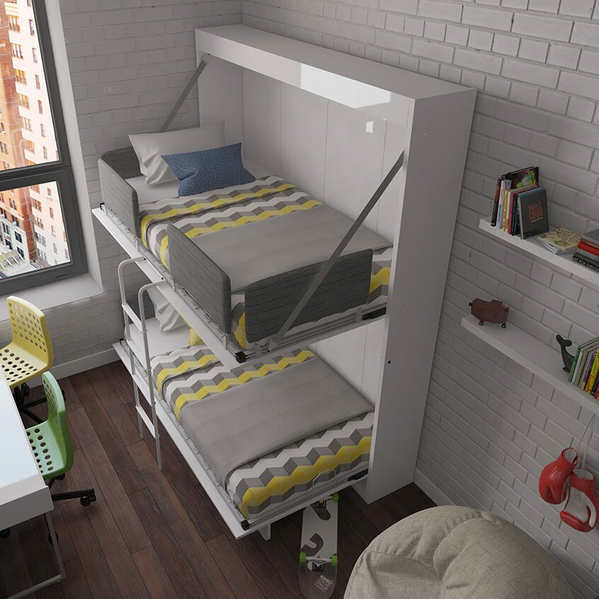 Multimo Twin Murphy Bed Wayfair