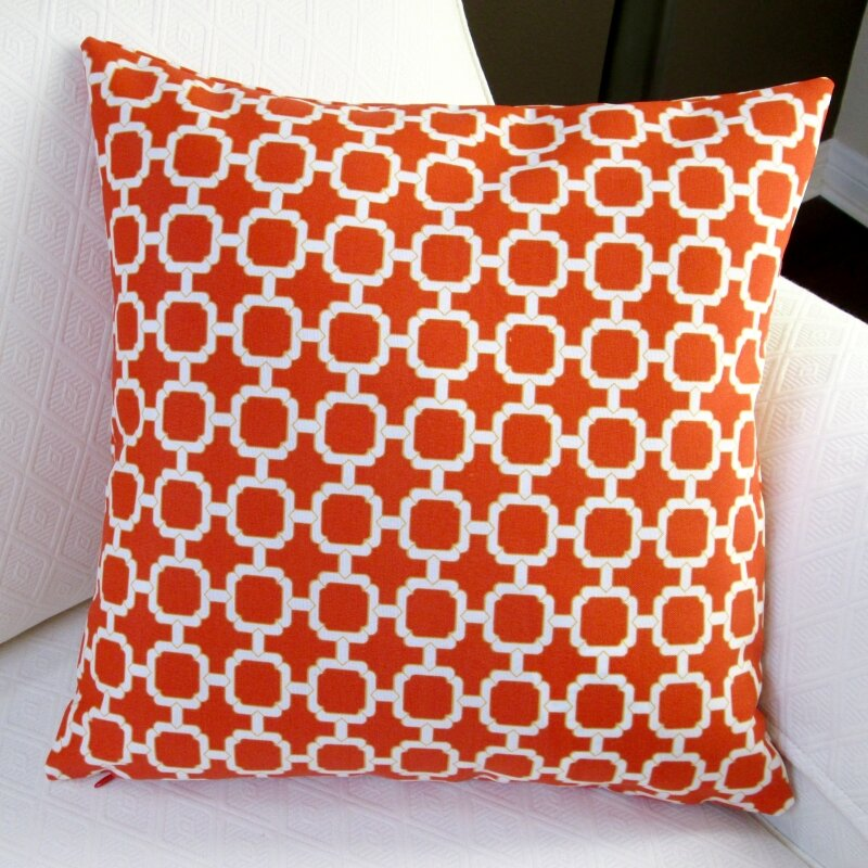 All Modern Outdoor Pillows : Artisan Pillows Hockley Geometric Modern Outdoor Pillow Cover Wayfair