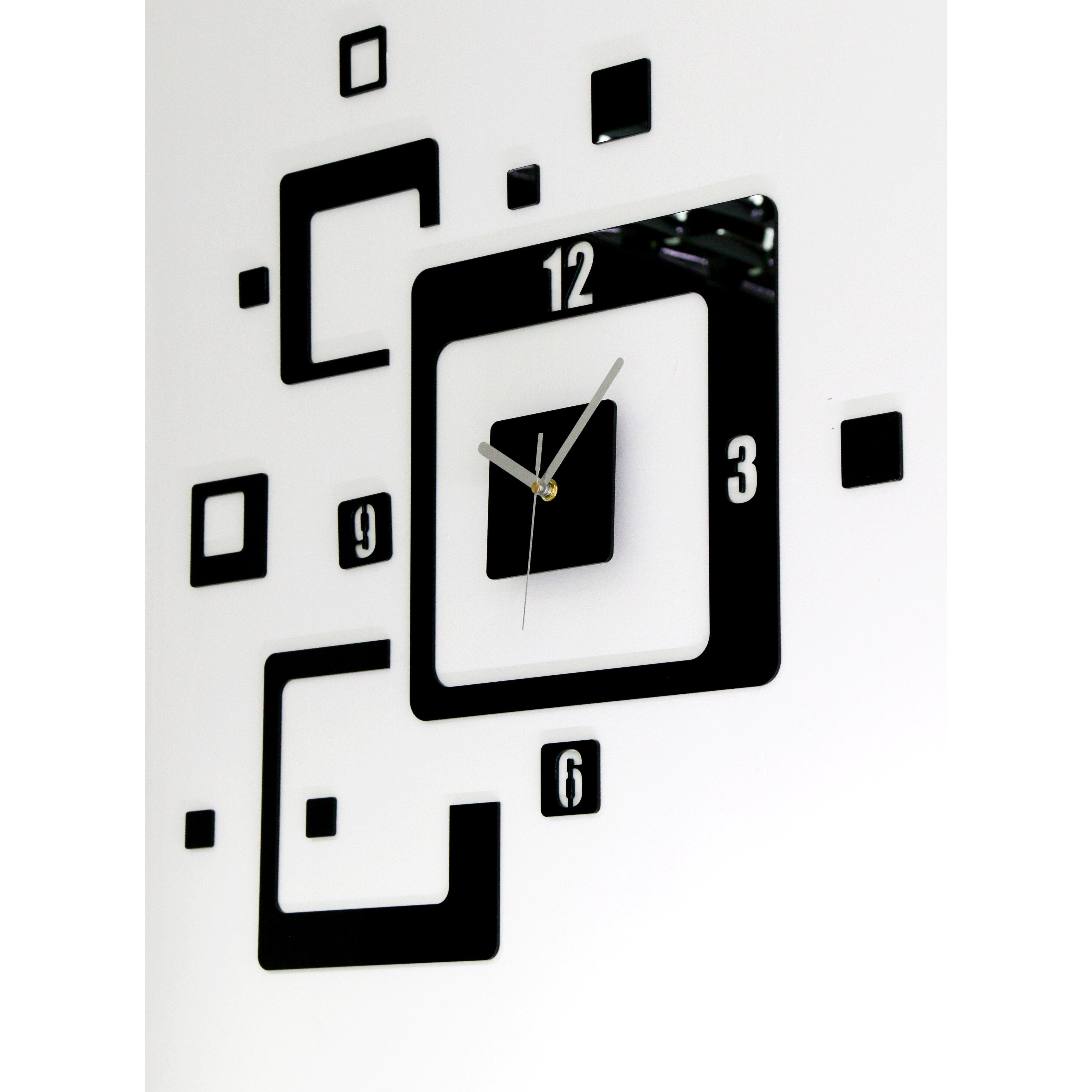 modernclock analoge wanduhr trio xxl. Black Bedroom Furniture Sets. Home Design Ideas