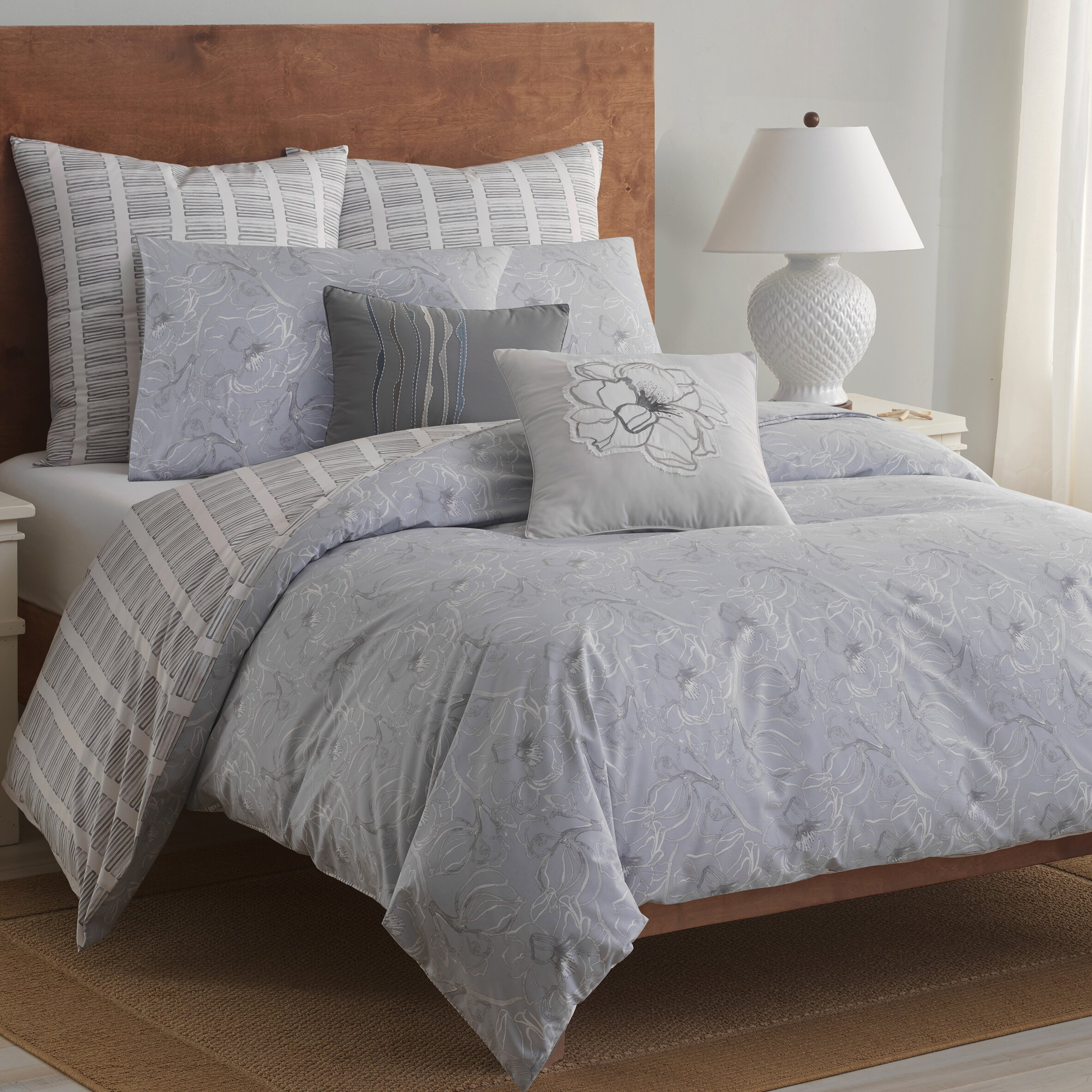 Top 28 Soft Comforter Sets Sporty Blue Red Grey Navy