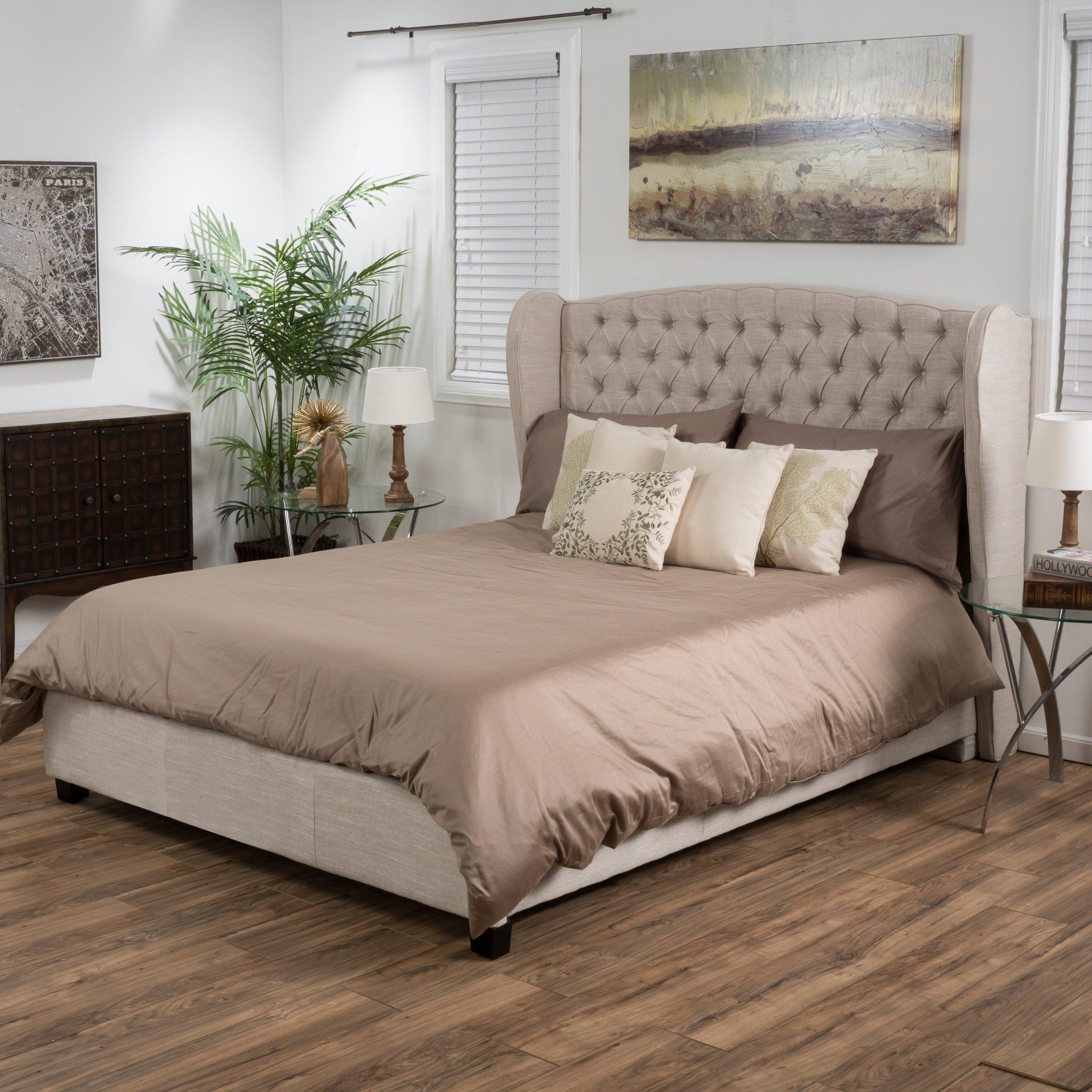 Rosalind Wheeler Cadmore Upholstered Panel Bed Amp Reviews