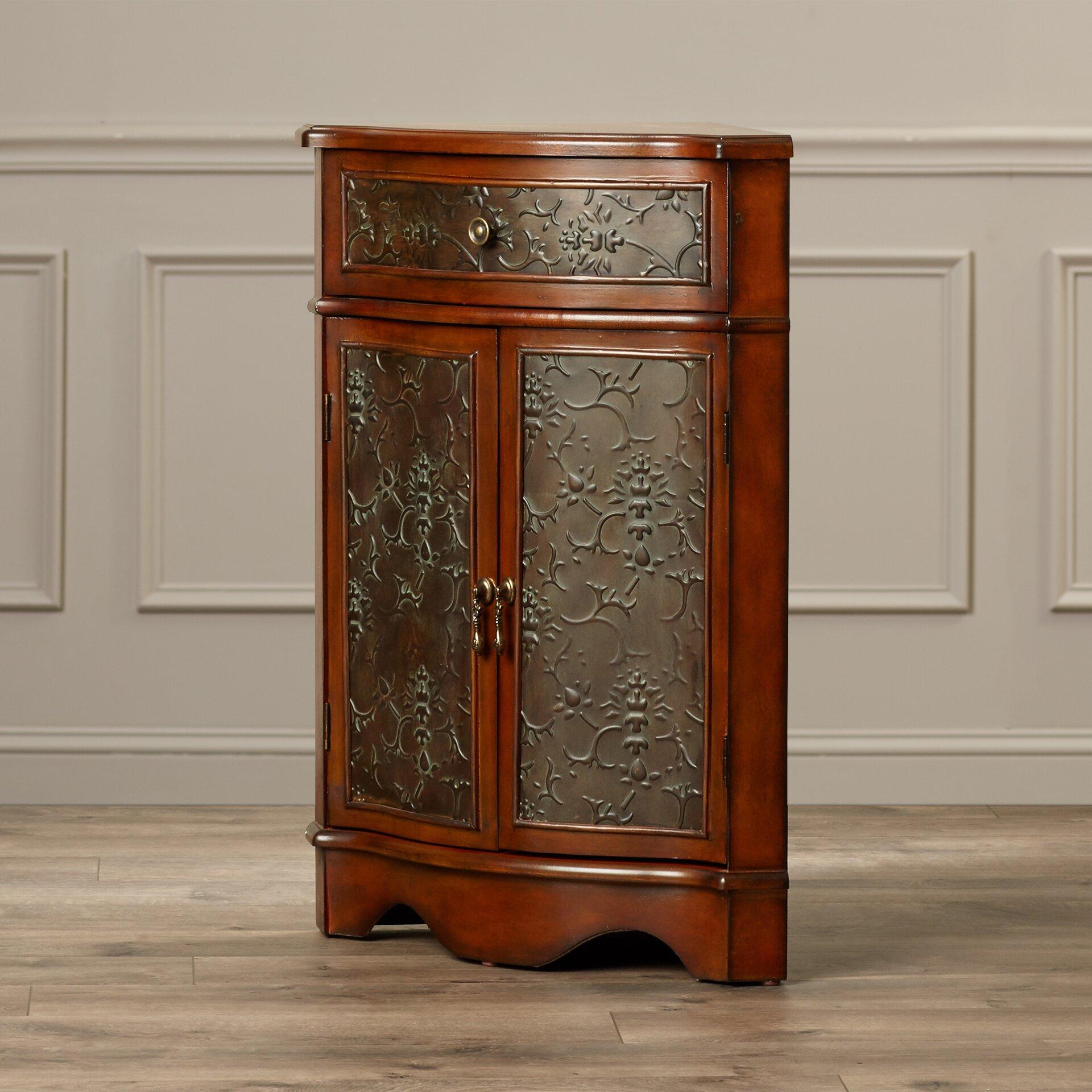 Living Room Furniture For Corner Cabinet: Rosalind Wheeler Menneken Corner Cabinet & Reviews
