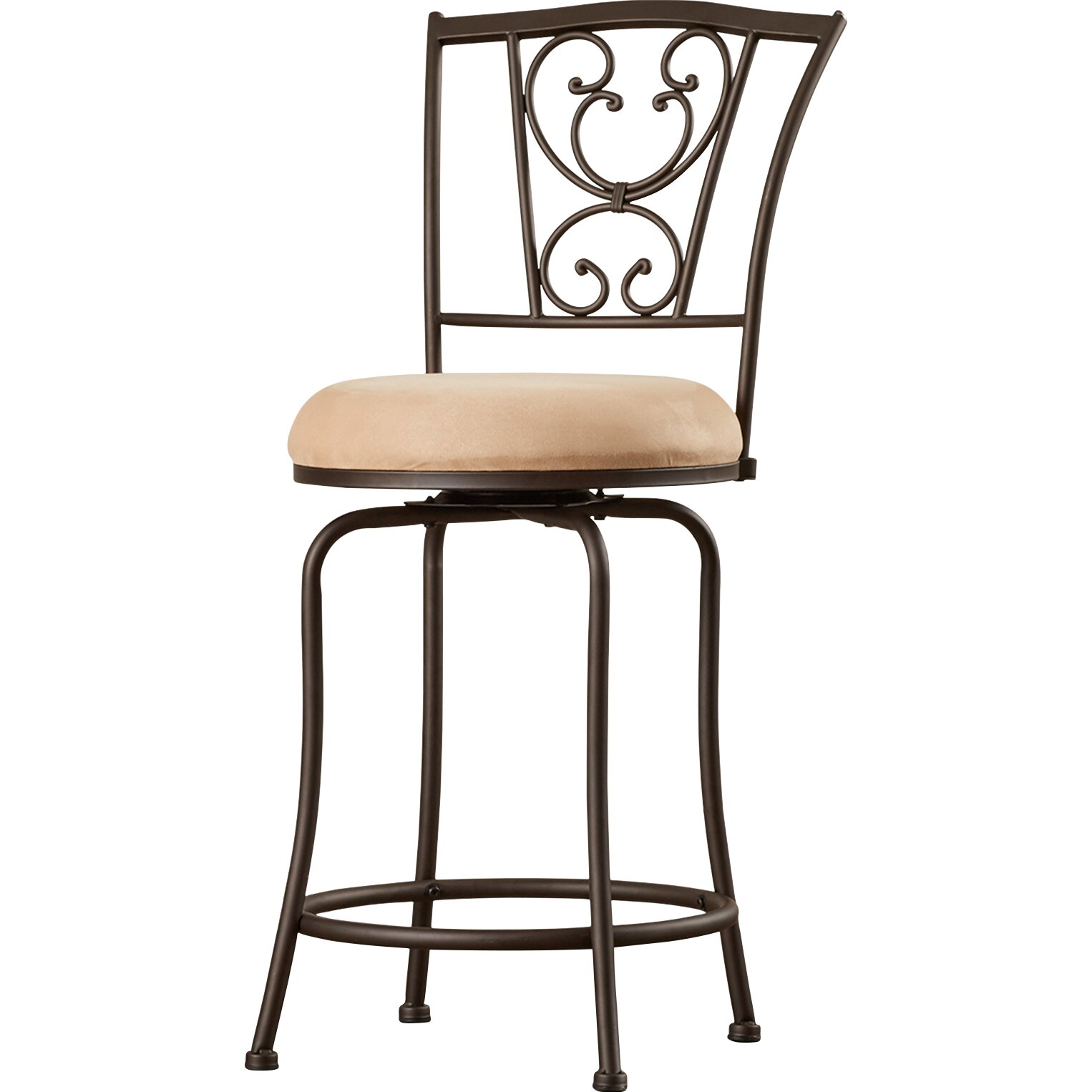 Rosalind Wheeler Christon 24 Quot Swivel Bar Stool Amp Reviews