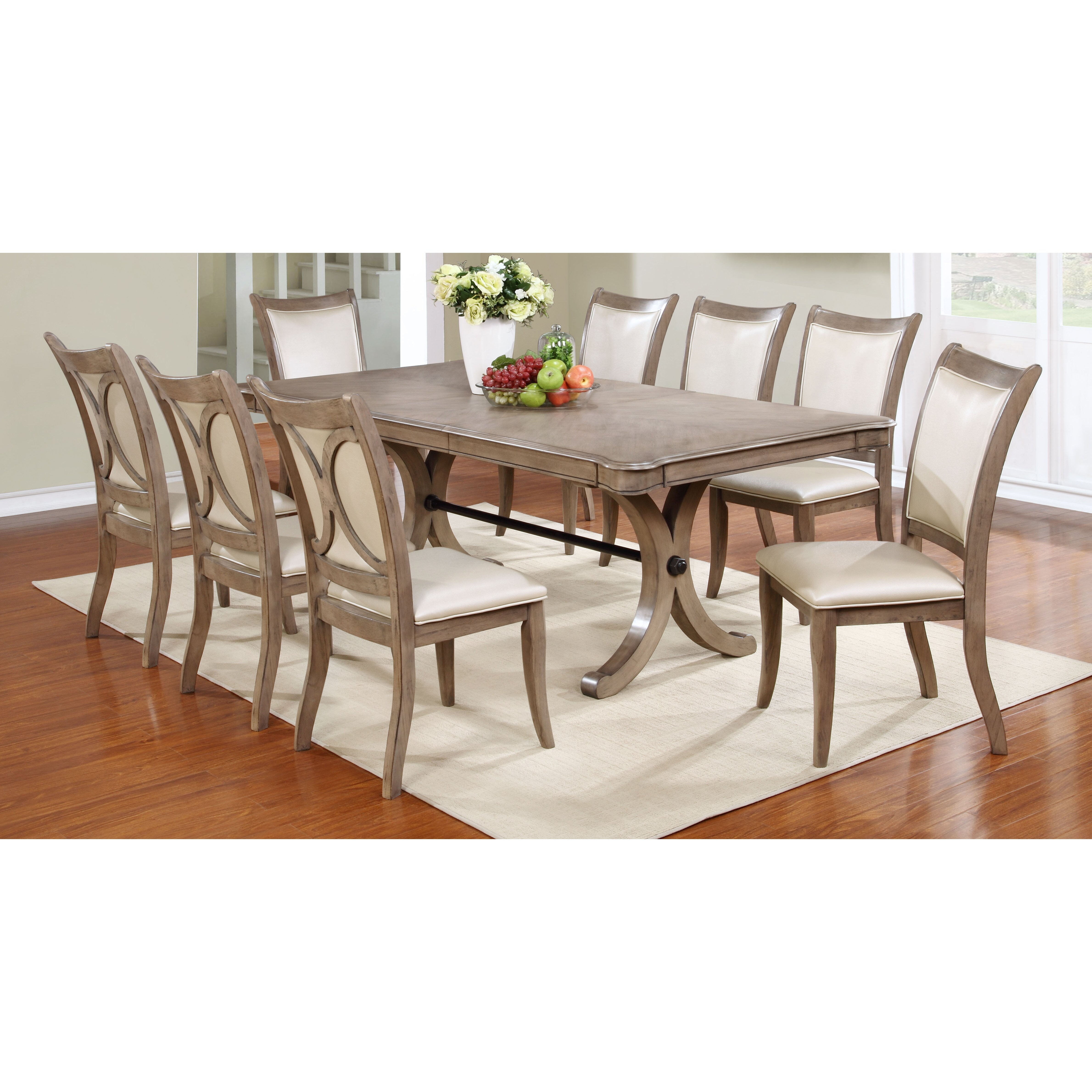 Rosalind wheeler regina piece dining set wayfair