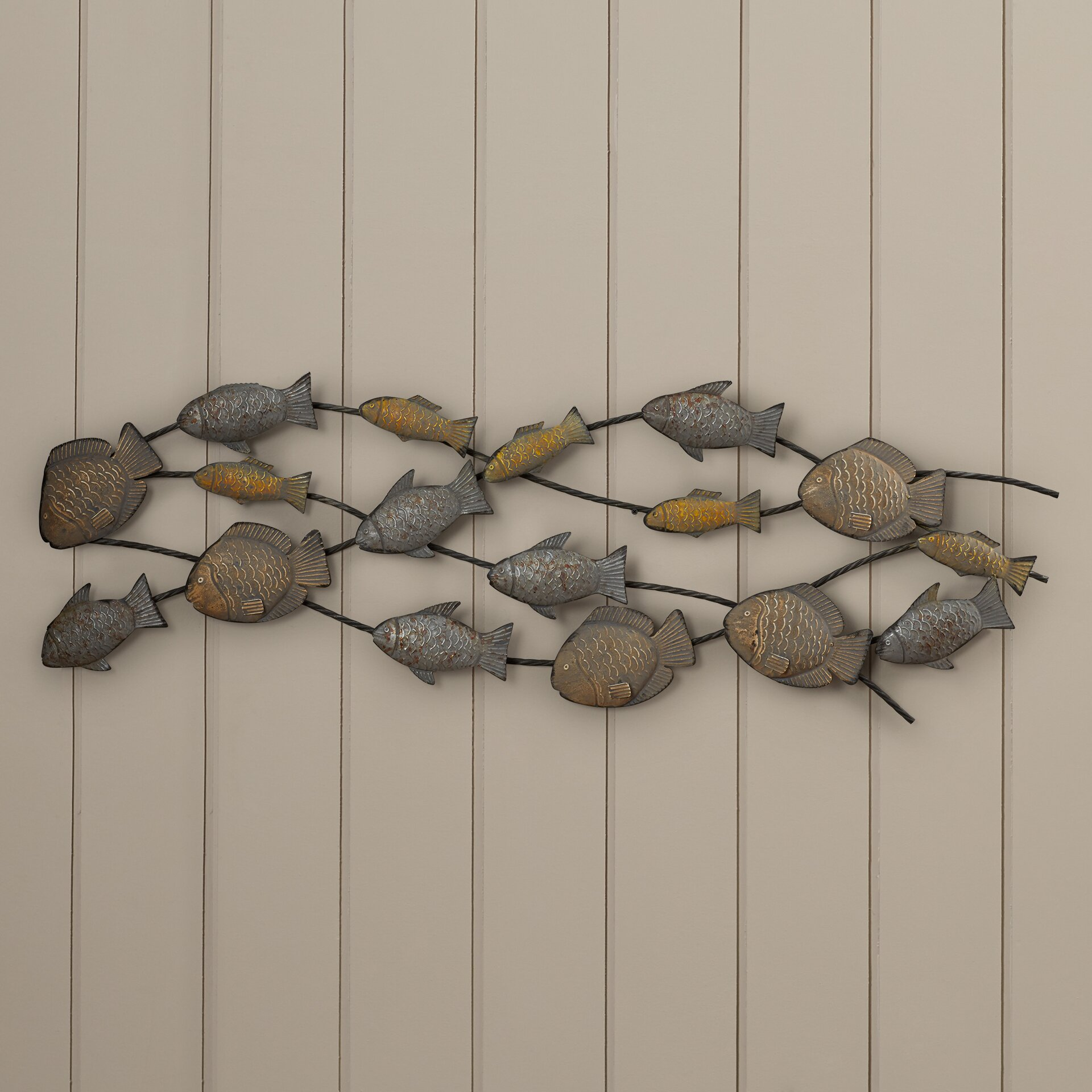 Wall Decor With Fish : Bay isle home fish wall d?cor reviews wayfair