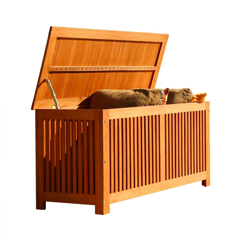 Bay Isle Home Ellsberg Teak Storage Benches Reviews Wayfair
