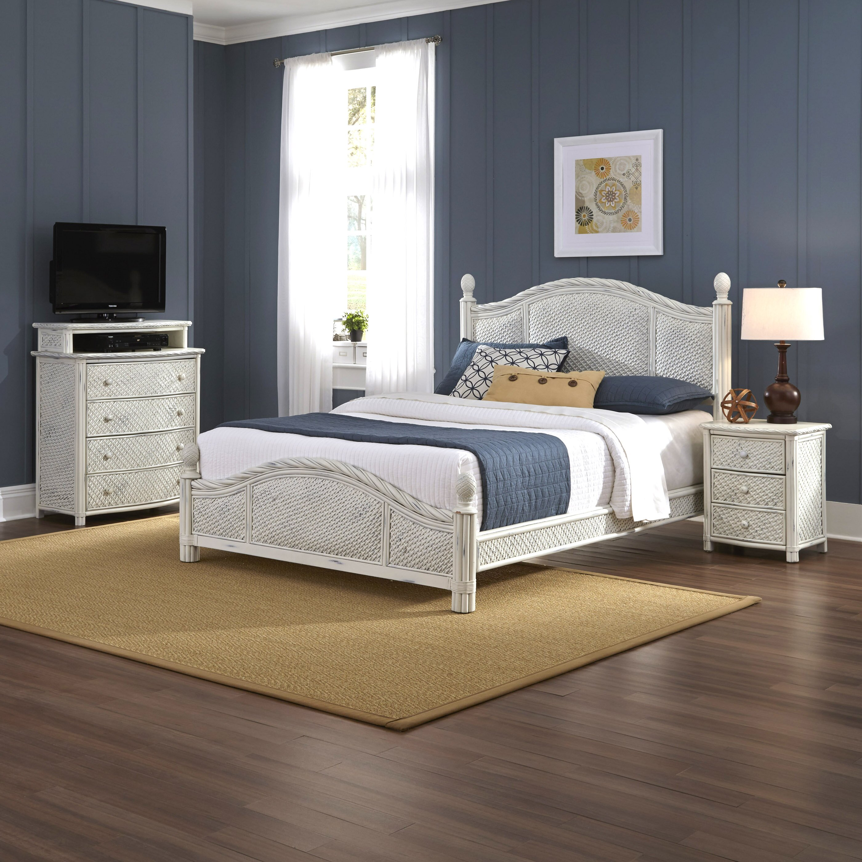 Bay isle home oliver panel 3 piece bedroom set reviews for Bedroom 3 piece sets